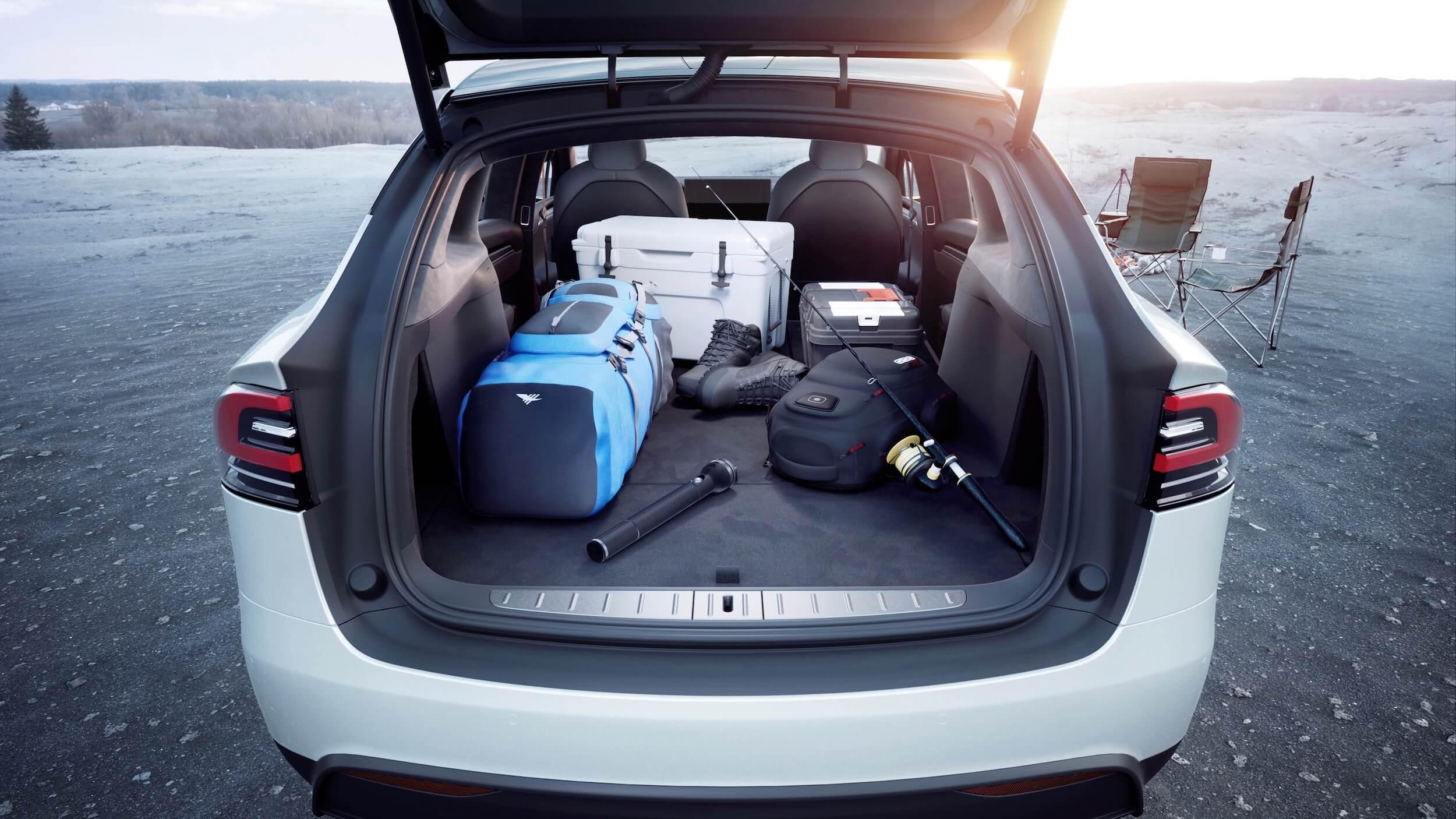 2021 Tesla Model X koffer