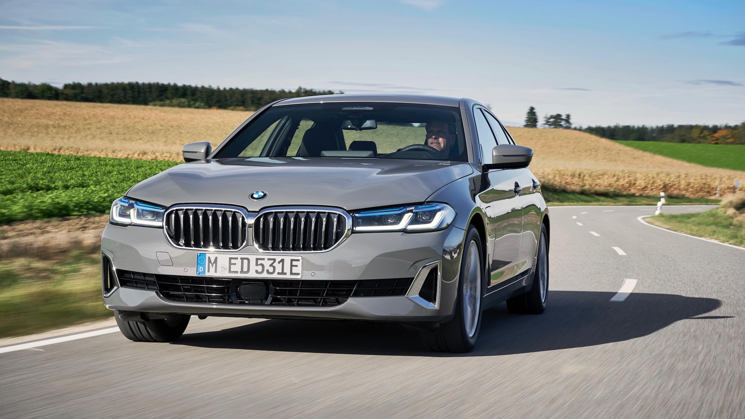 BMW 520e hybride