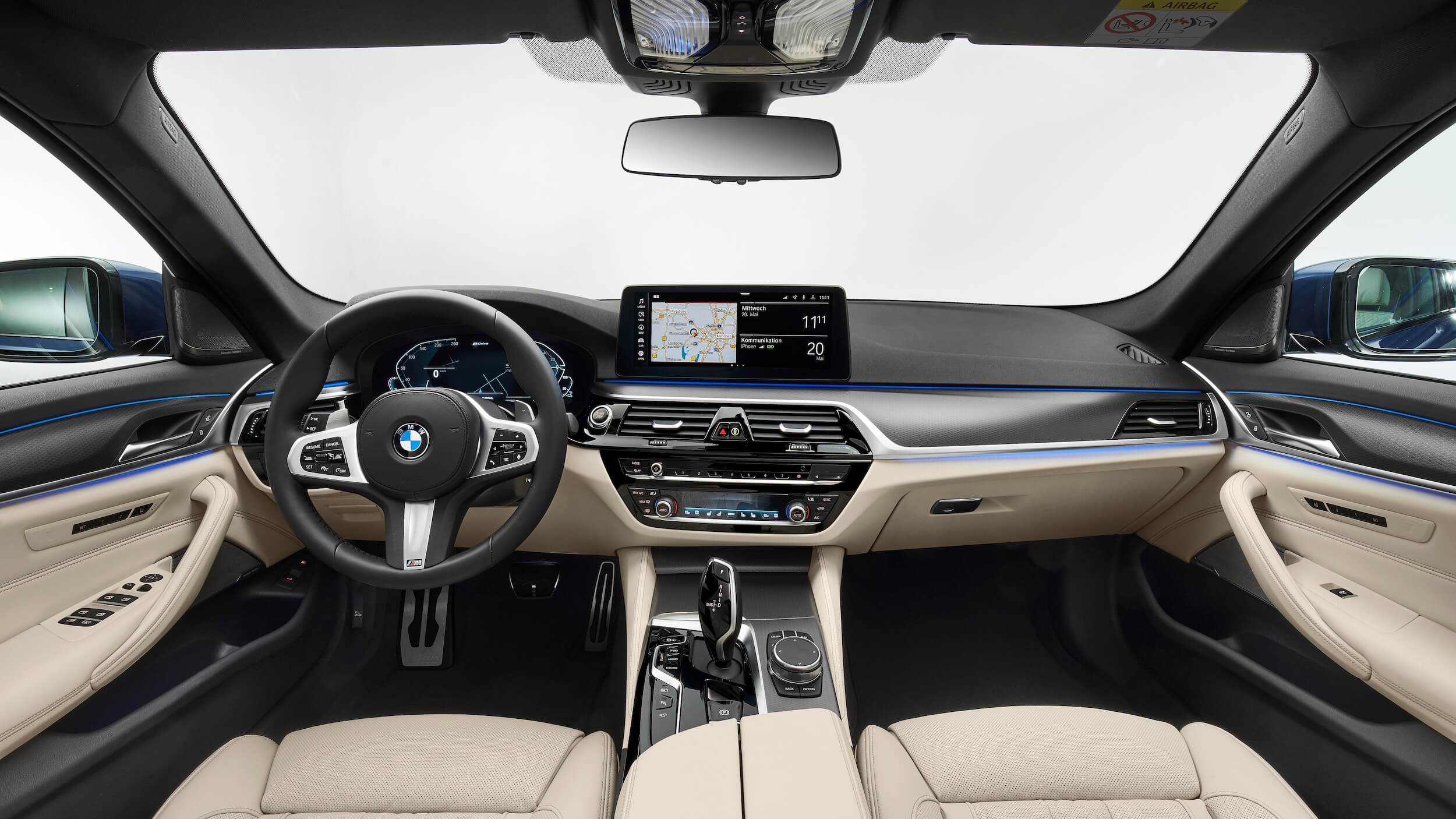 BMW 530xe G30 facelift interieur