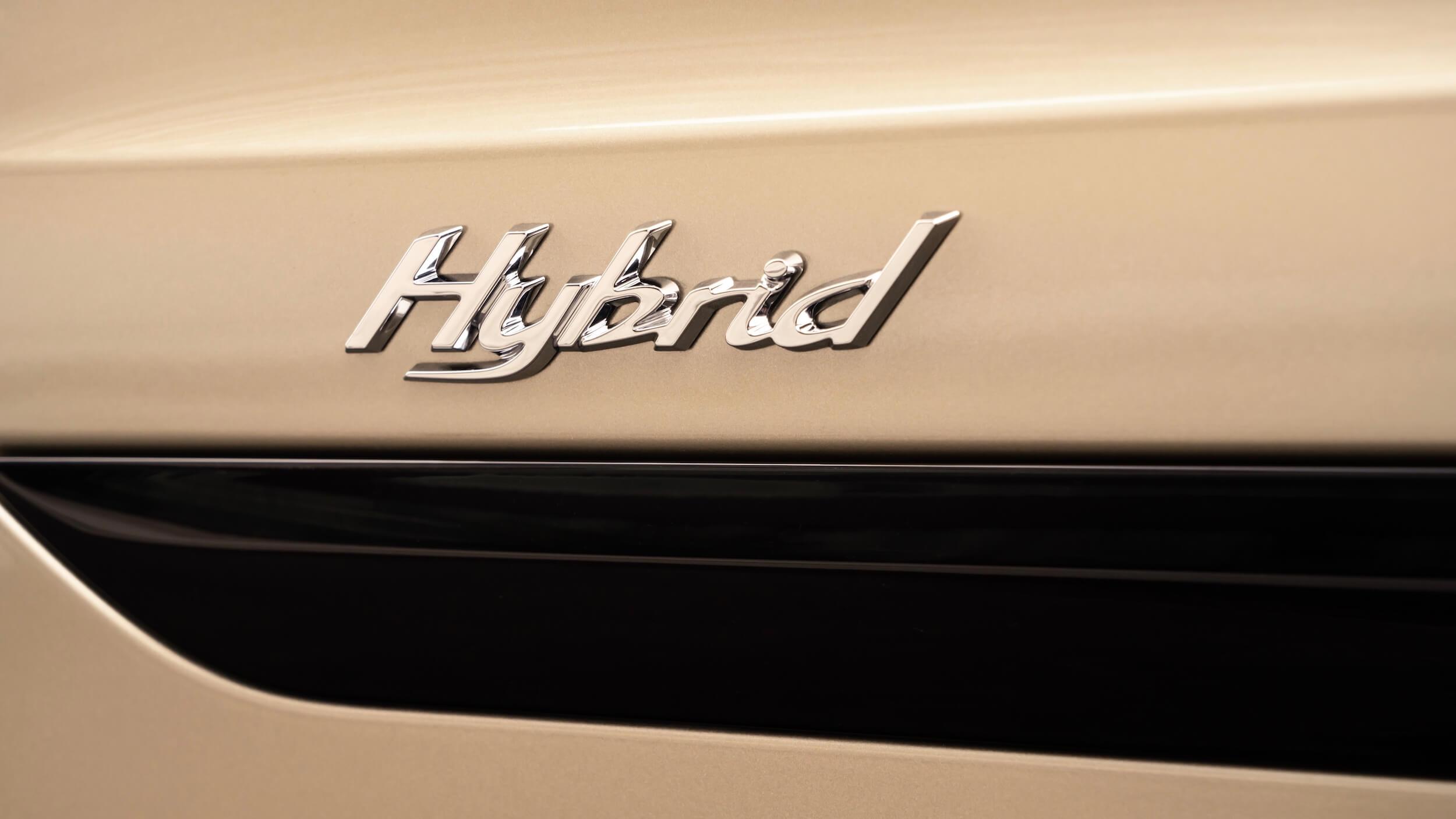 Bentley Bentayga PHEV Hybrid badge