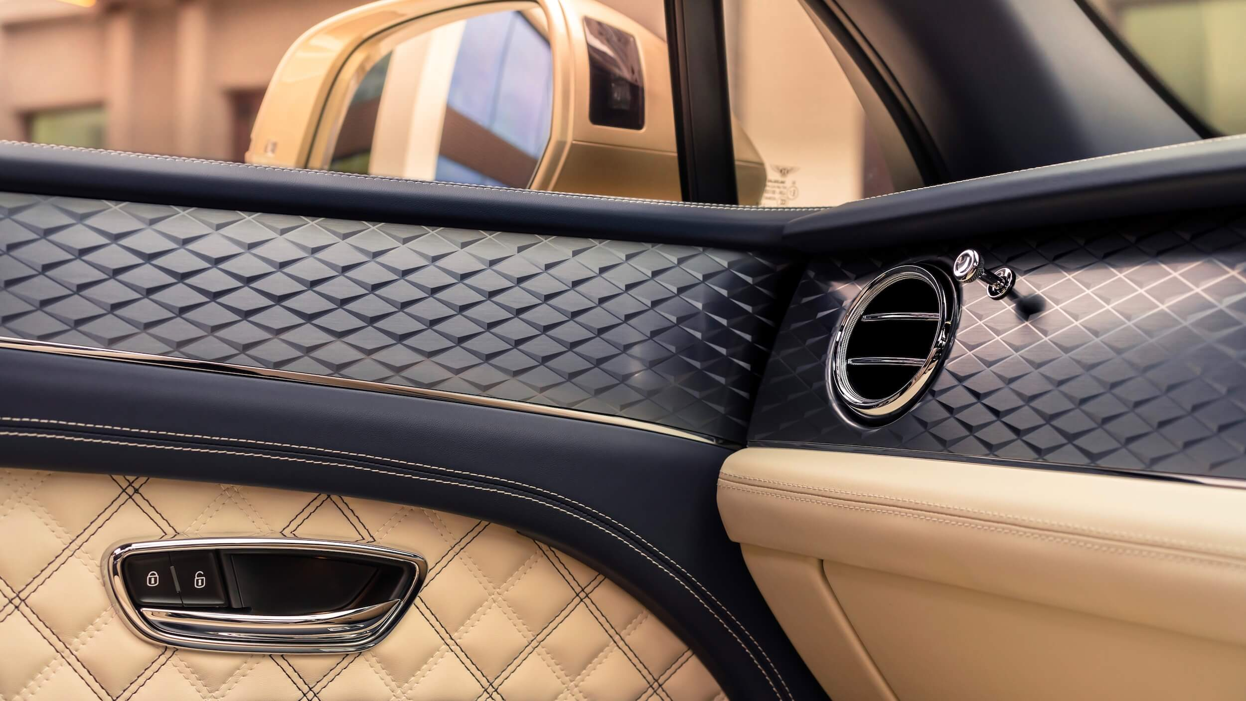 Bentley Bentayga PHEV interieur detail