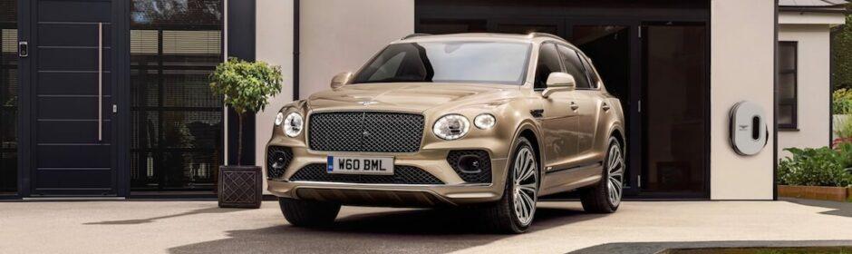 Bentley Bentayga plug in hybride SUV 1
