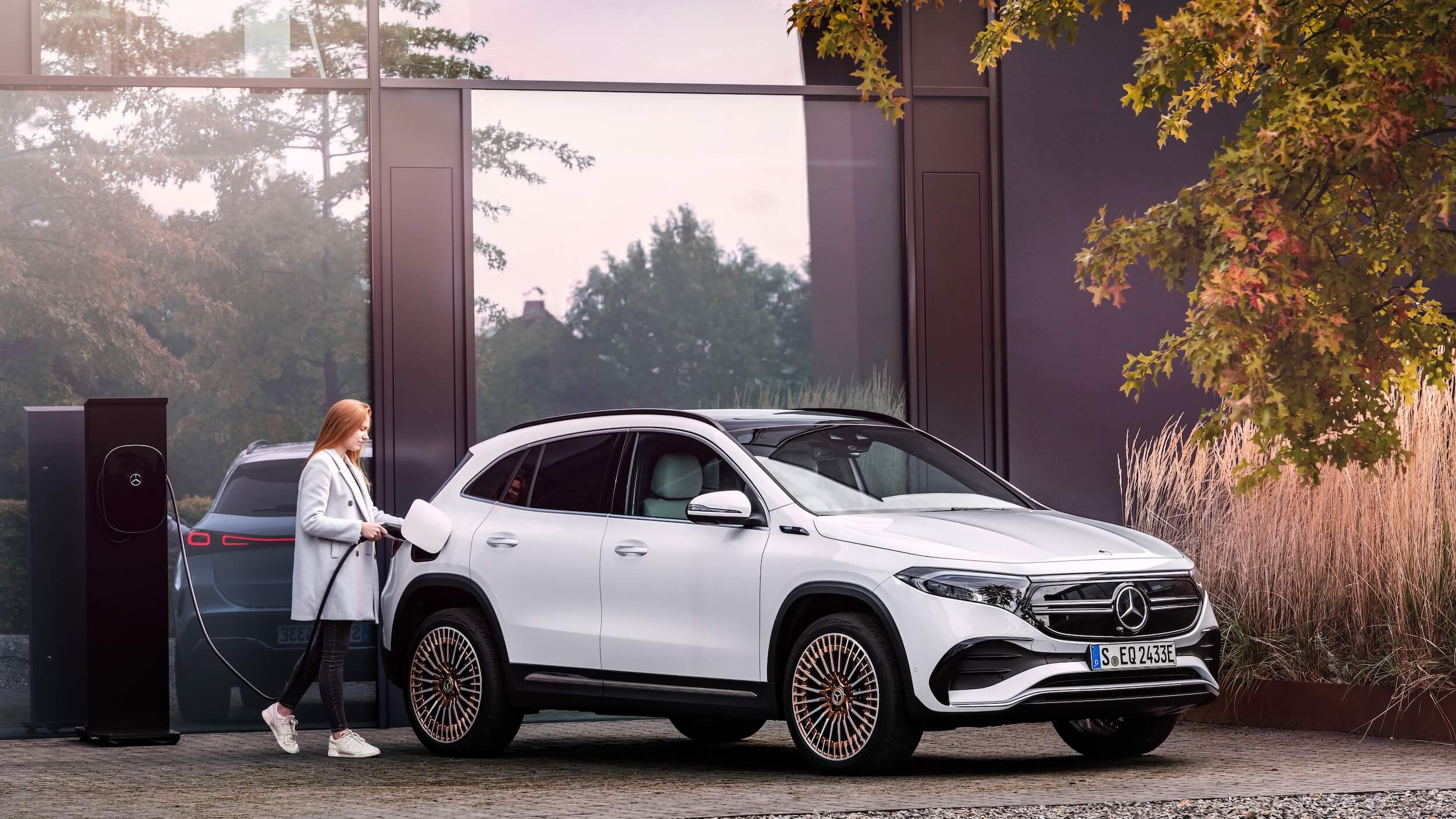 Elektrische Mercedes EQA opladen