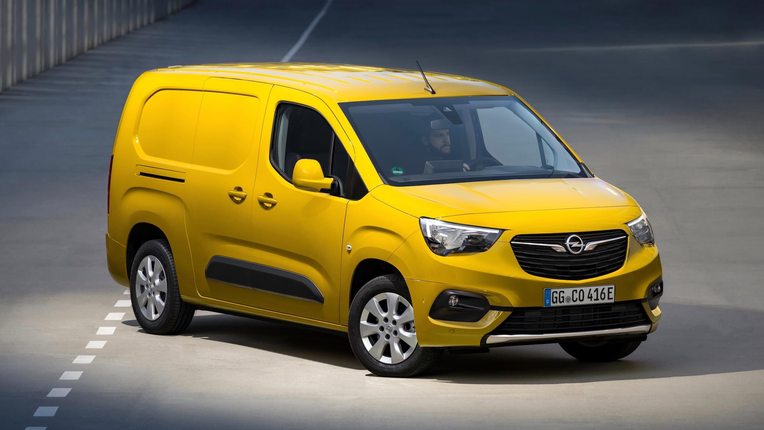 Elektrische Opel Combo e Cargo