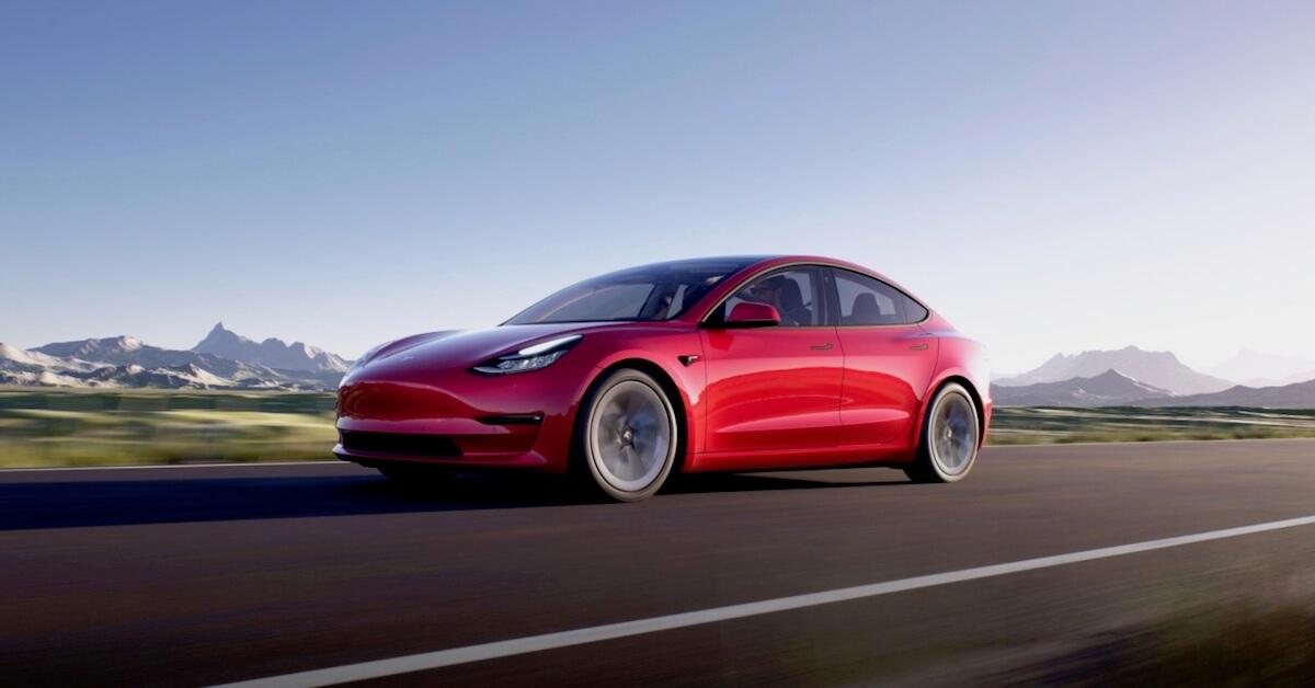 Elektrische Tesla Model 3