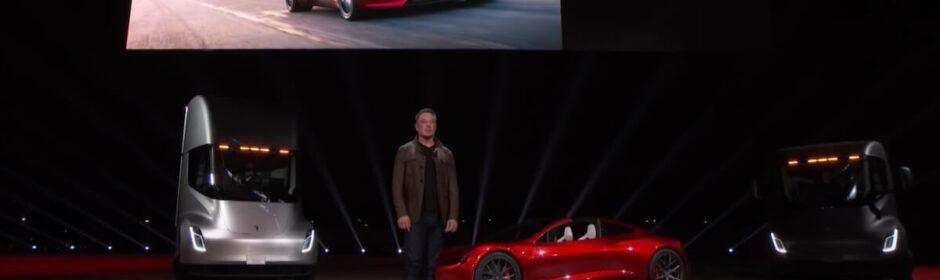 Elon Musk presentatie