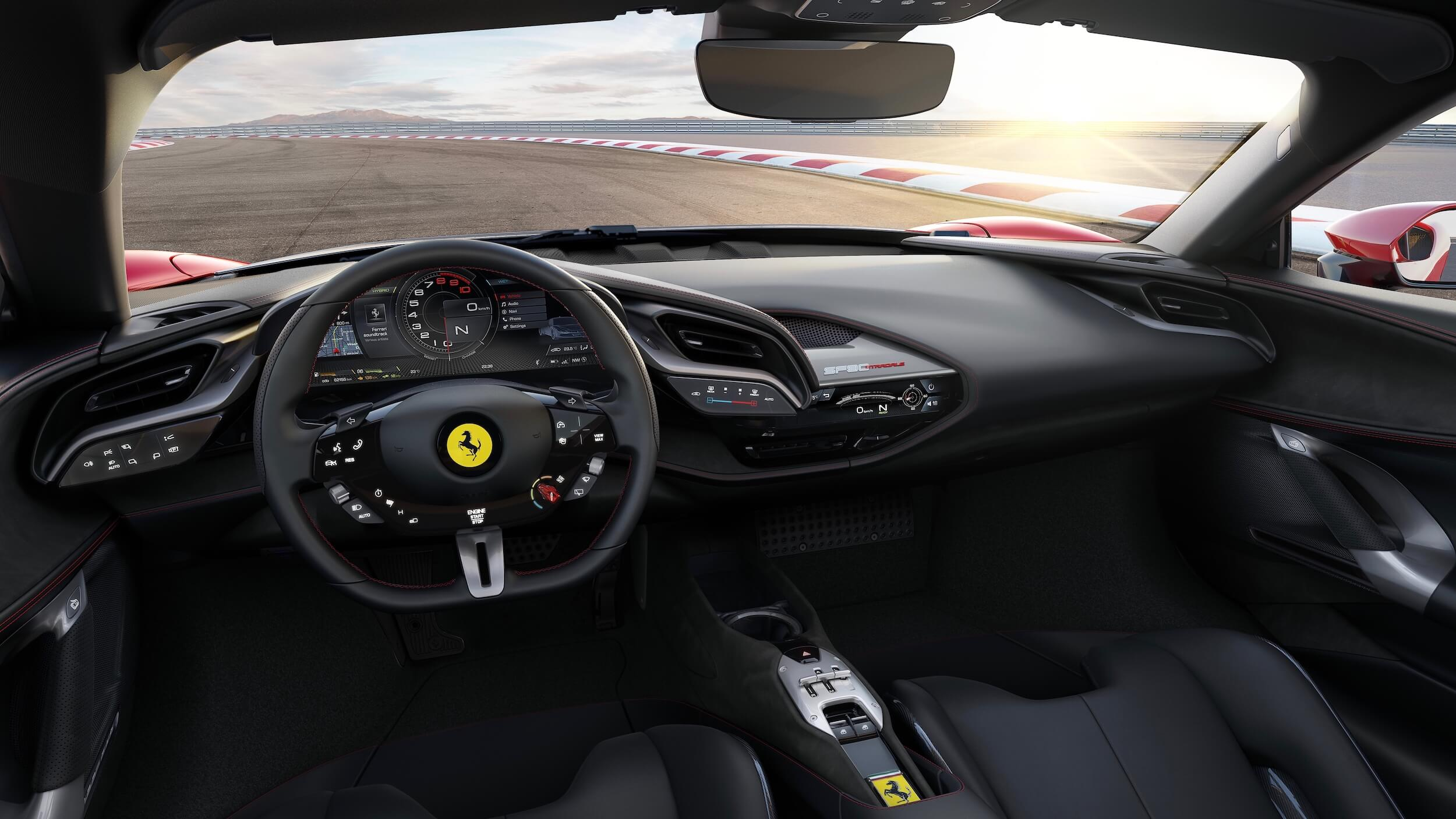 Ferrari SF90 Stradale interieur