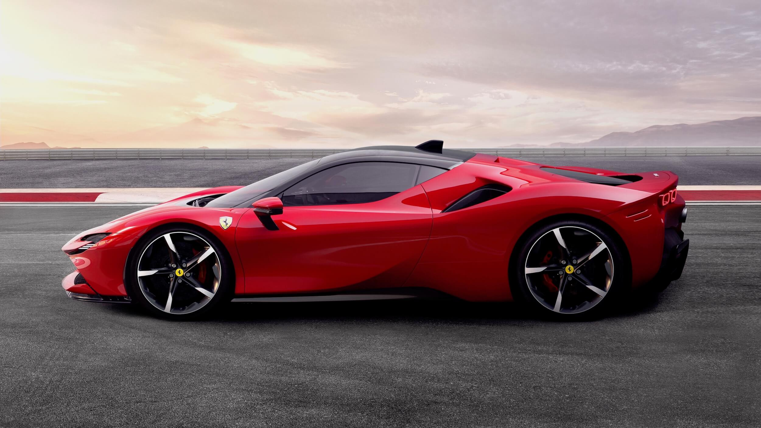 Ferrari SF90 Stradale plug in hybride