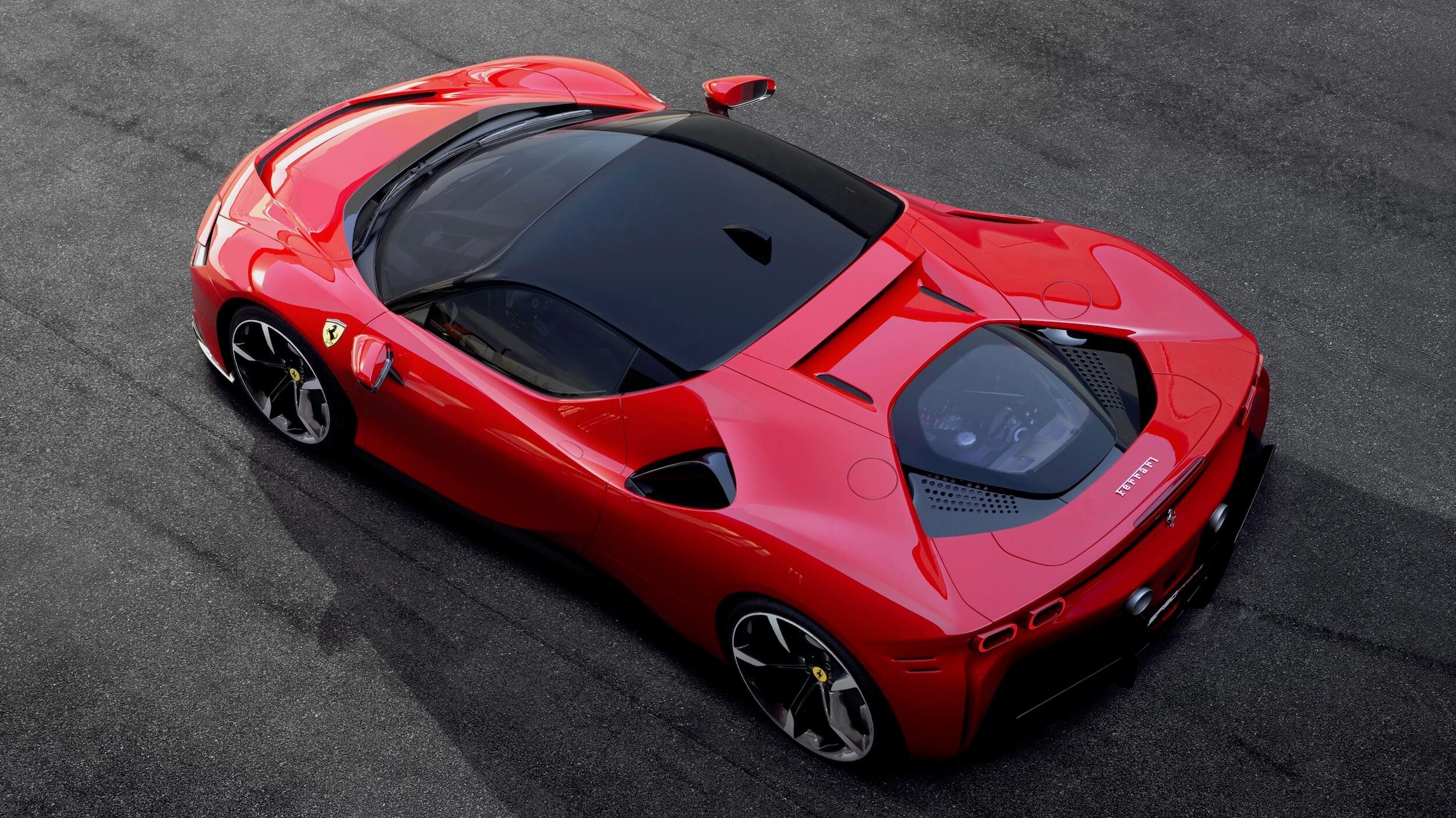 Ferrari SF90 Stradale rood