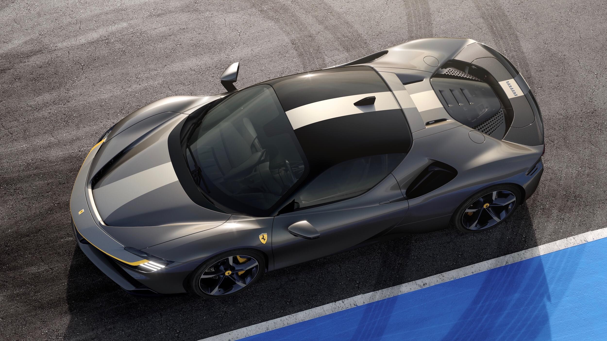 Ferrari SF90 Stradale zwart