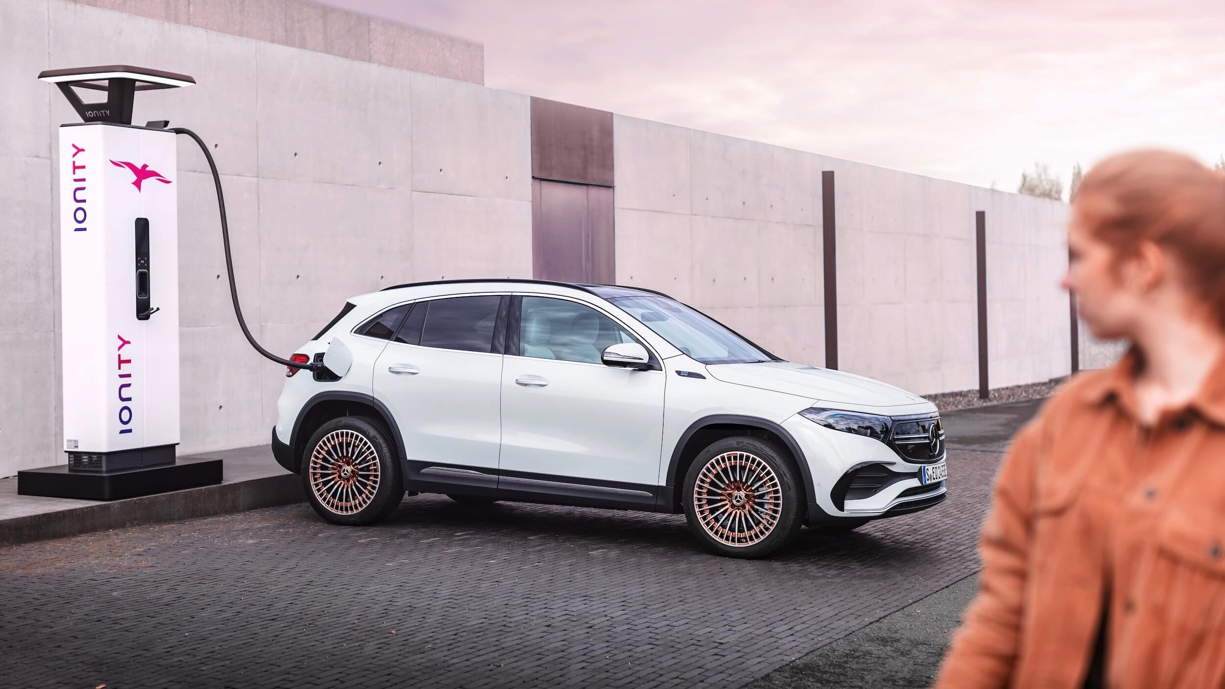 Mercedes EQA Ionity
