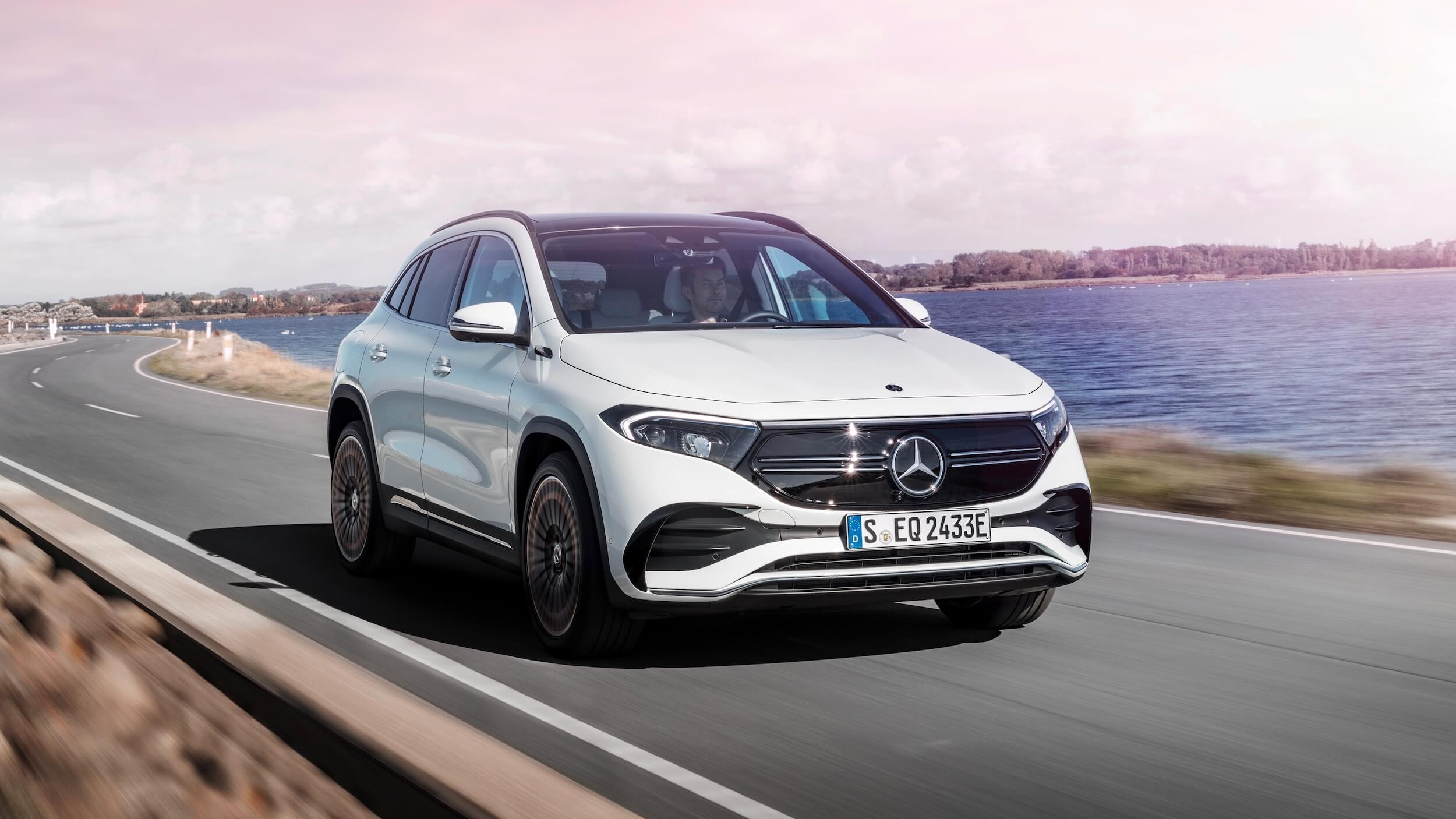 Mercedes EQA auto