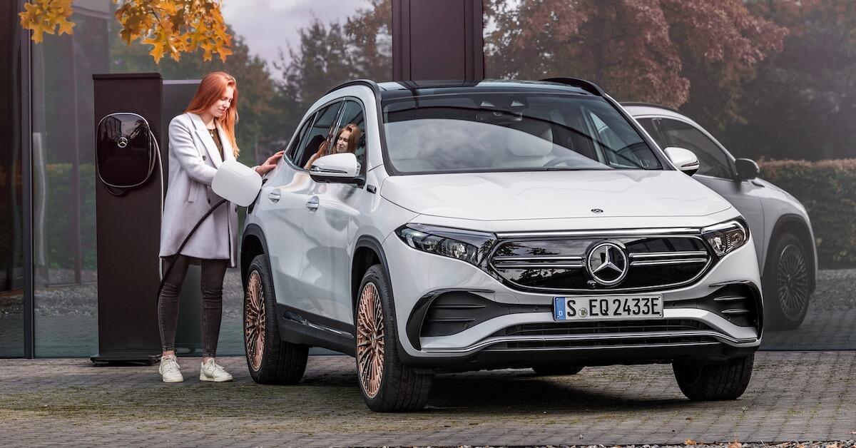 Mercedes EQA elektrische crossover