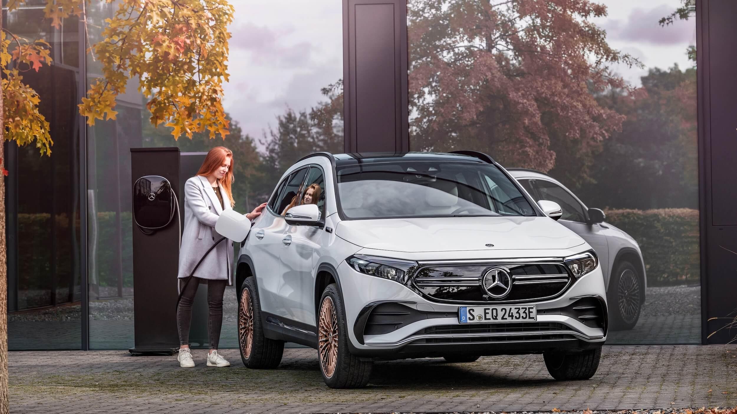 Mercedes EQA opladen