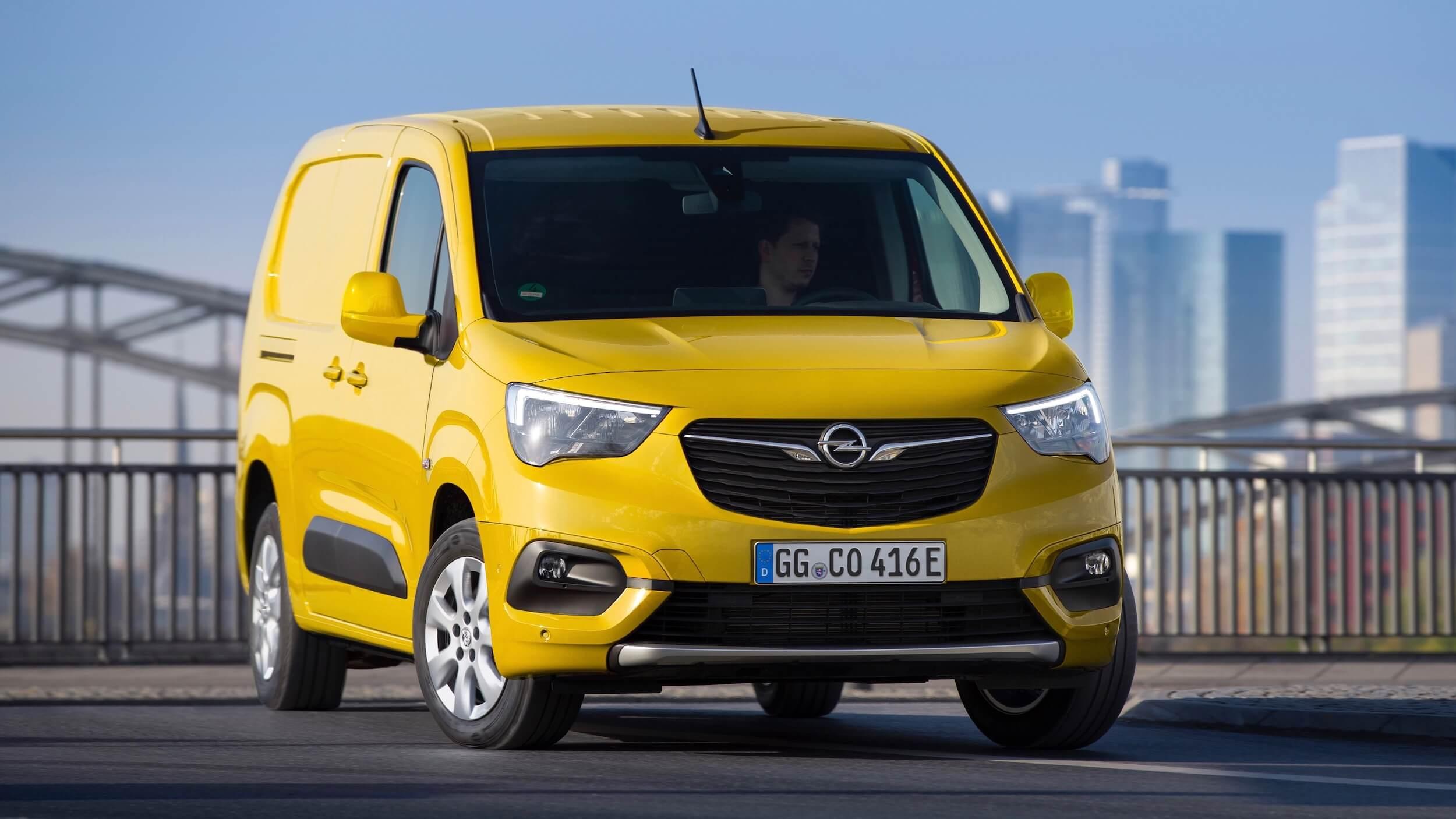 Opel Combo e Cargo elektrisch
