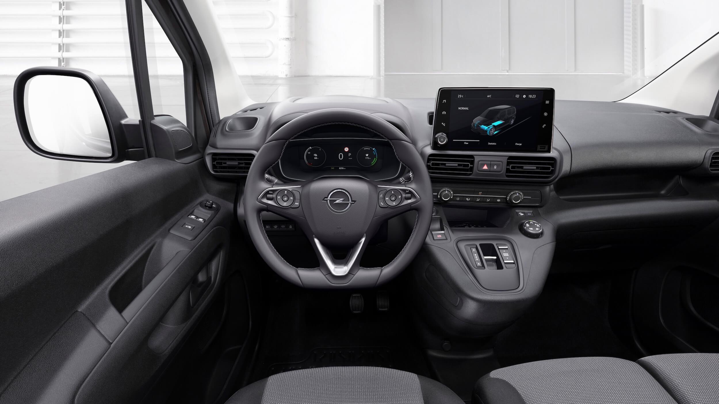 Opel Combo e Cargo interieur