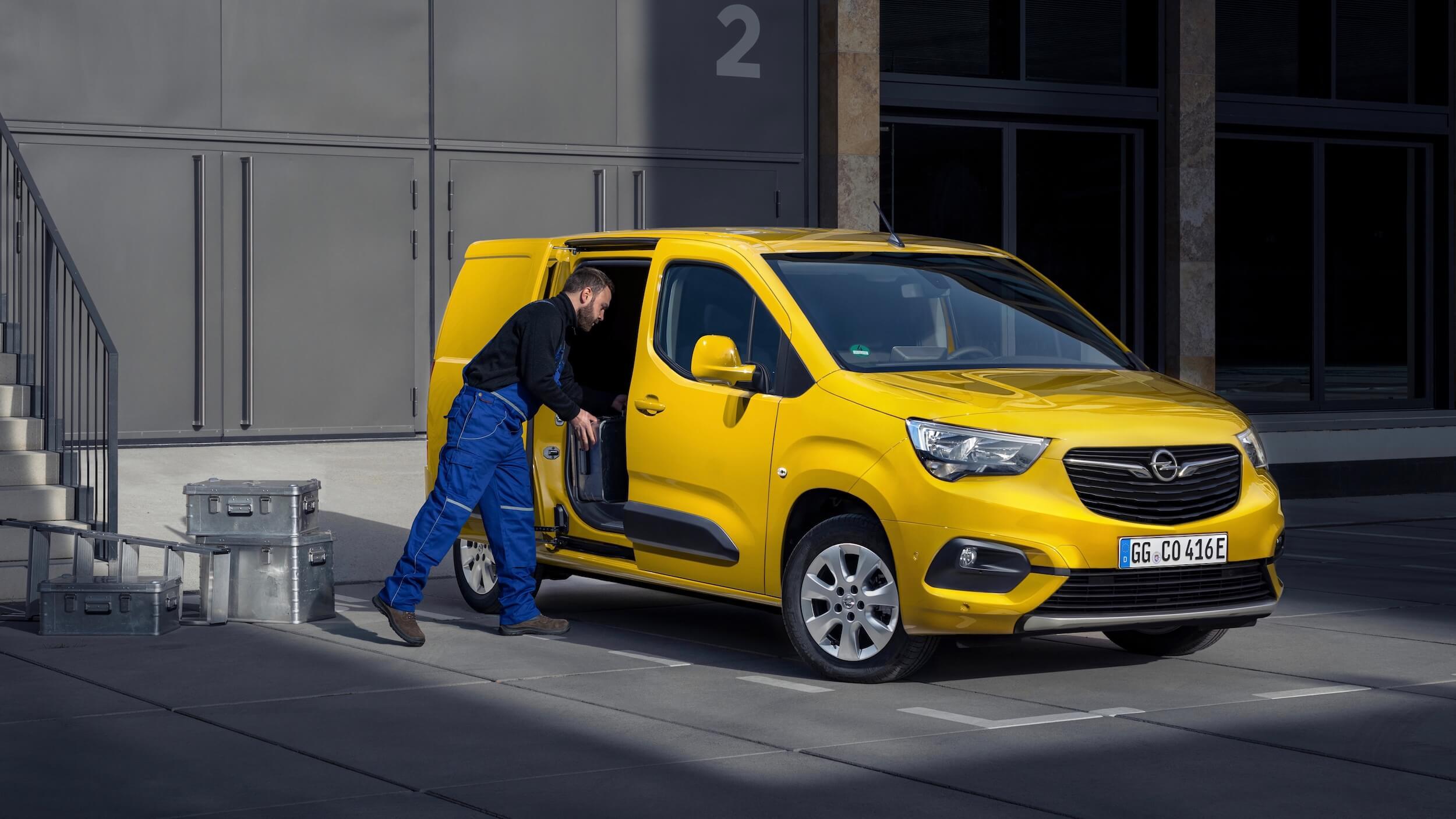 Opel Combo e Cargo laadvolume