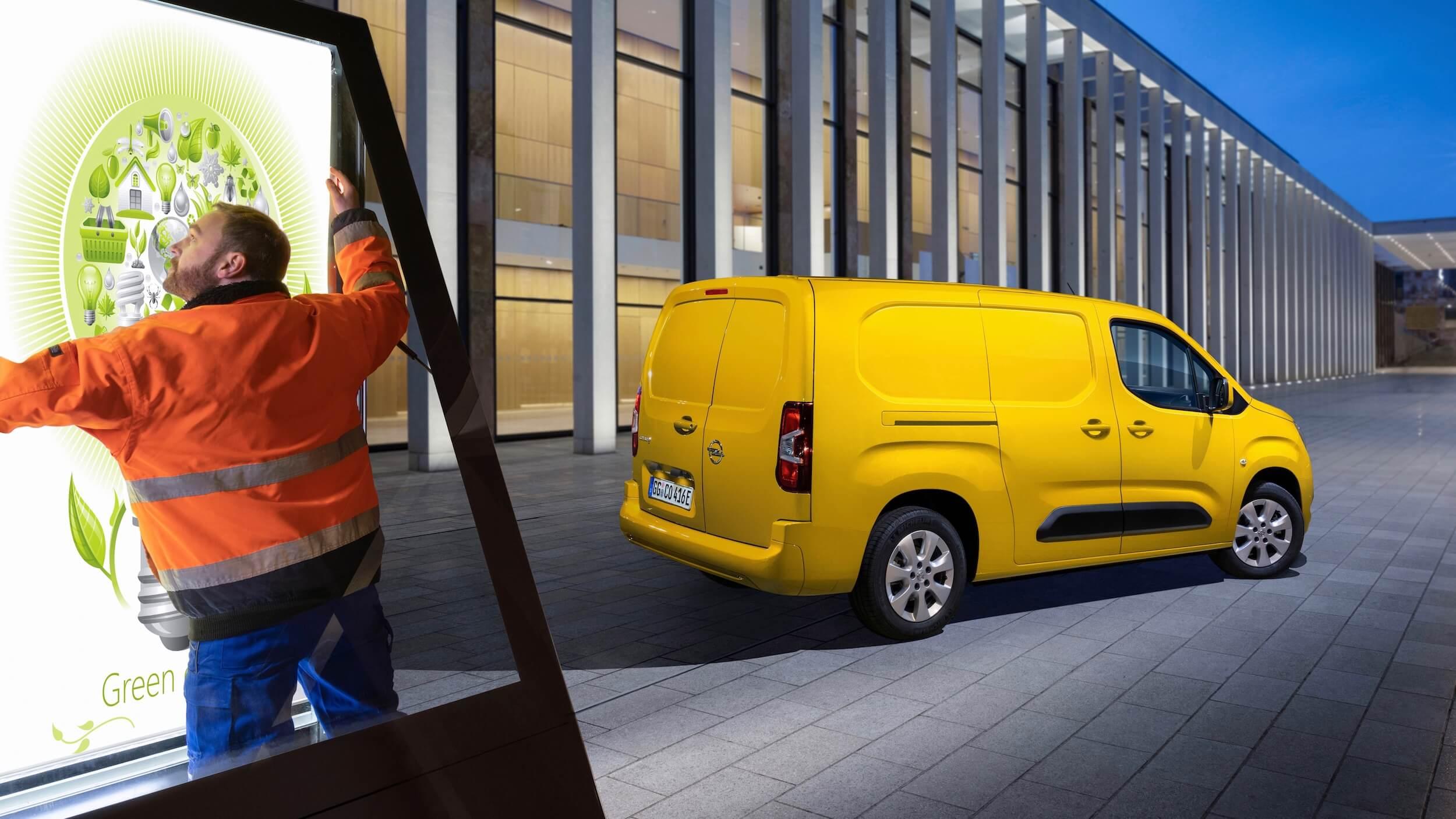 Opel Combo e Cargo lifestyle
