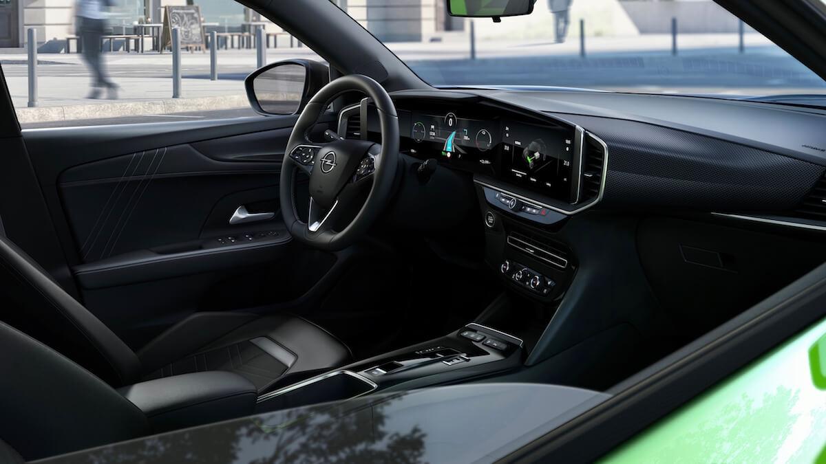 Opel Mokka e interieur en schermen
