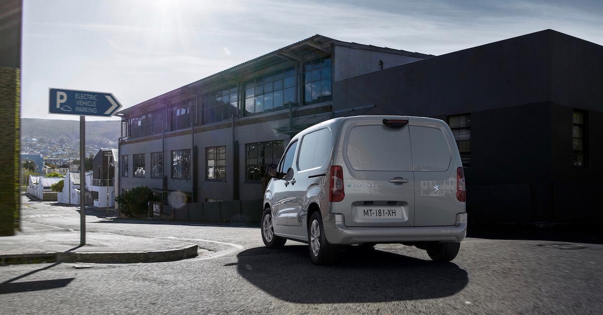 Peugeot e Partner bestelwagen