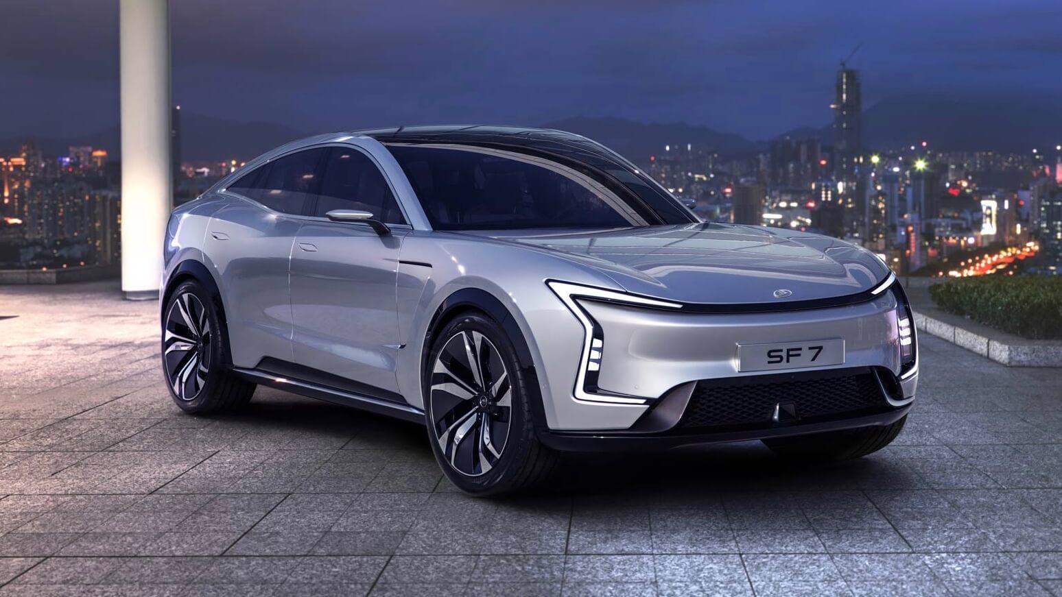 Seres SF7 elektrische auto