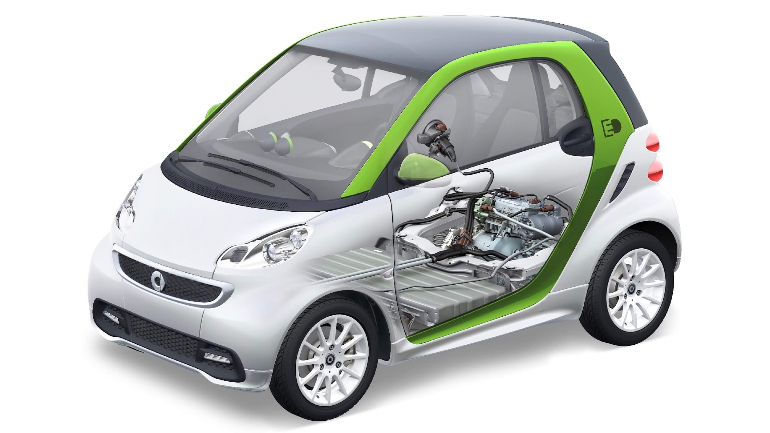 Smart Electric Drive 2014 batterij