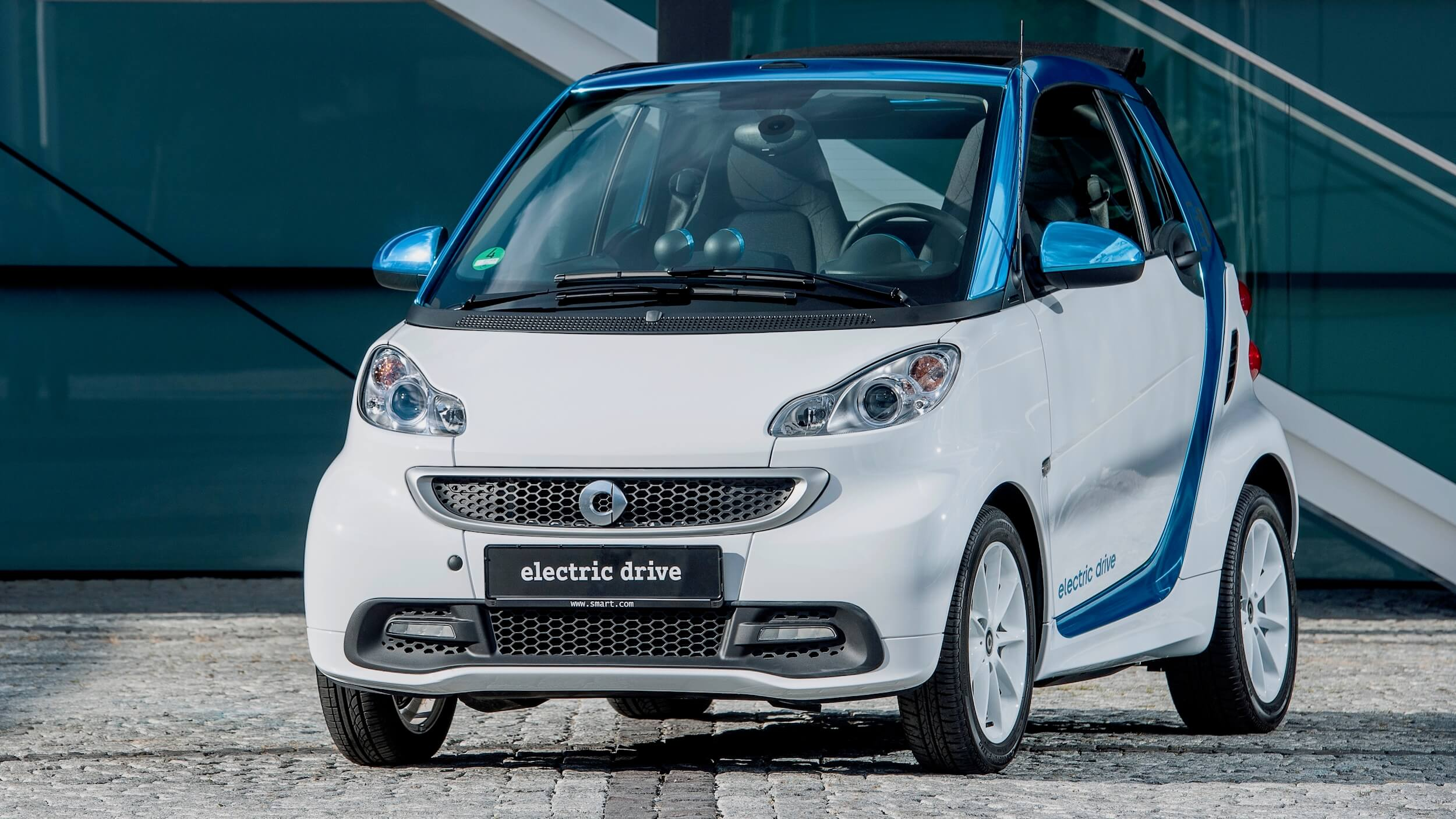 Smart Electric Drive 2014 front