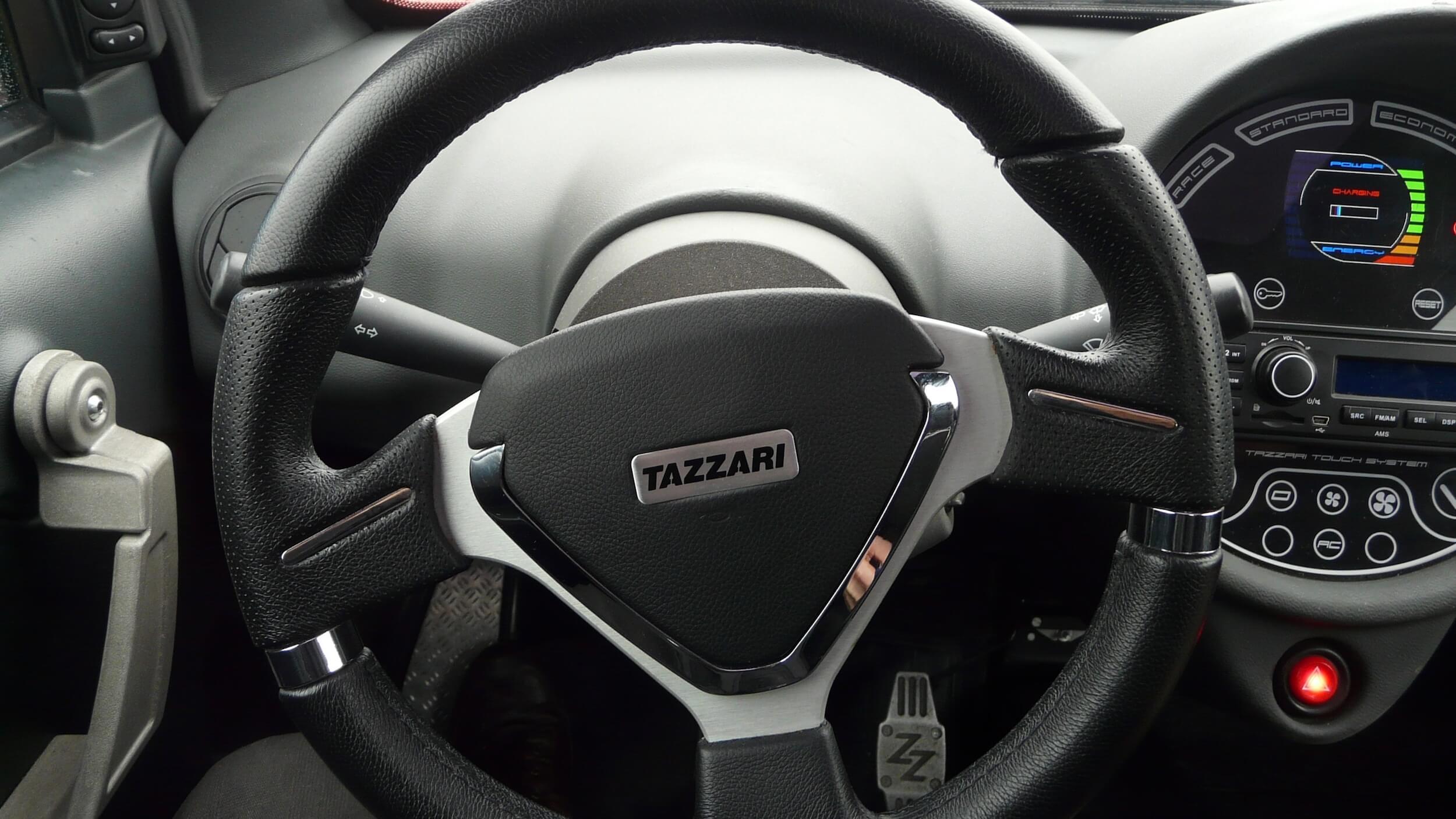 Tazzari Zero stuur