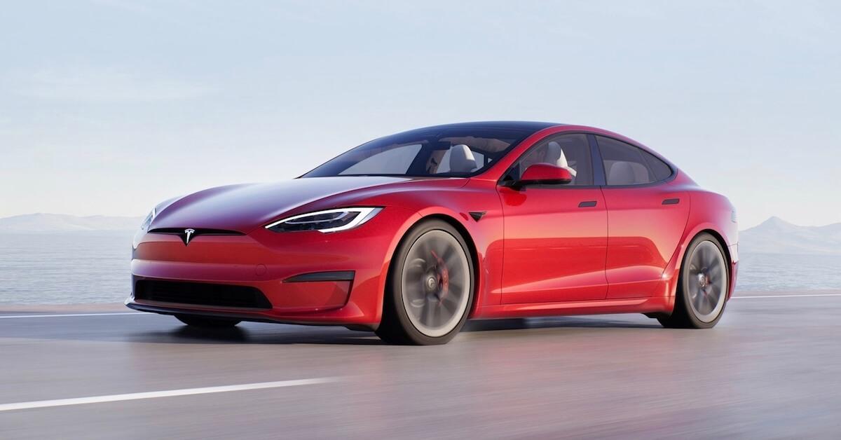 Tesla Model S elektrische sedan