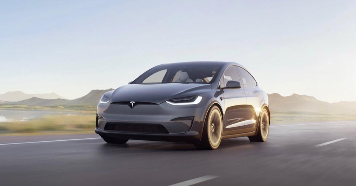 Tesla Model X elektrische SUV 1