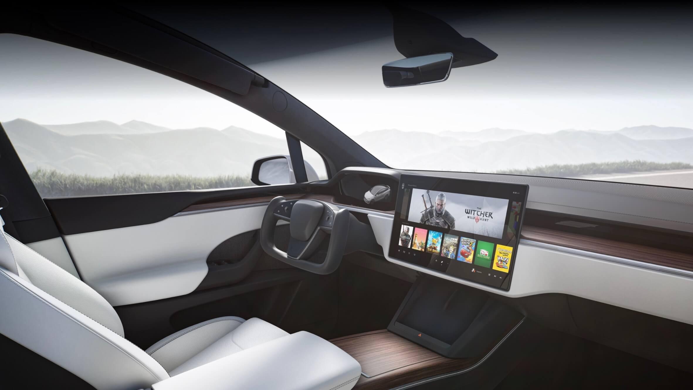 Tesla Model X interieur