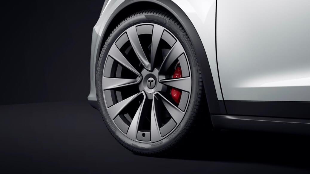 Tesla Model X wiel