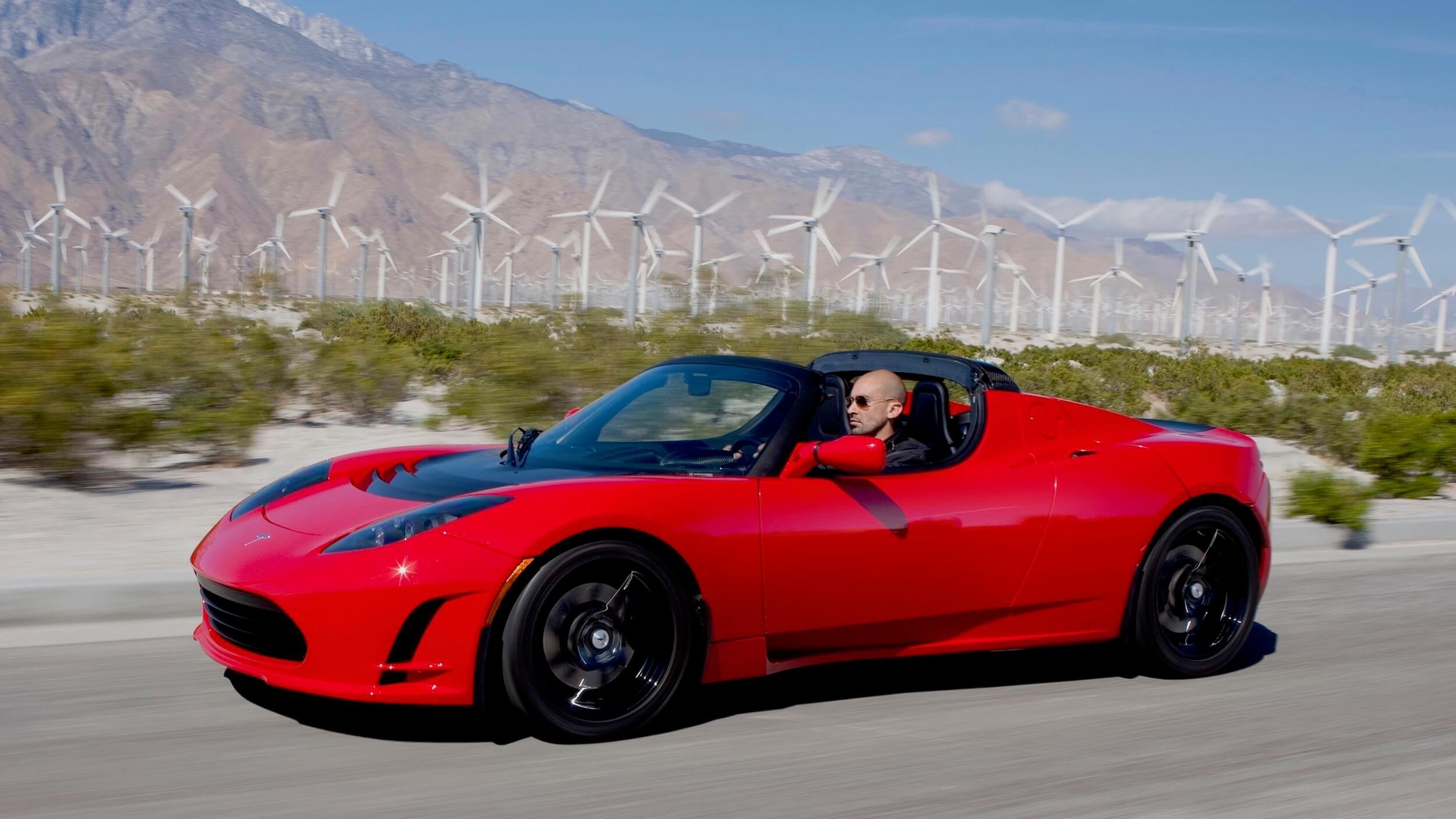 Tesla Roadster 2.5 eerste generatie