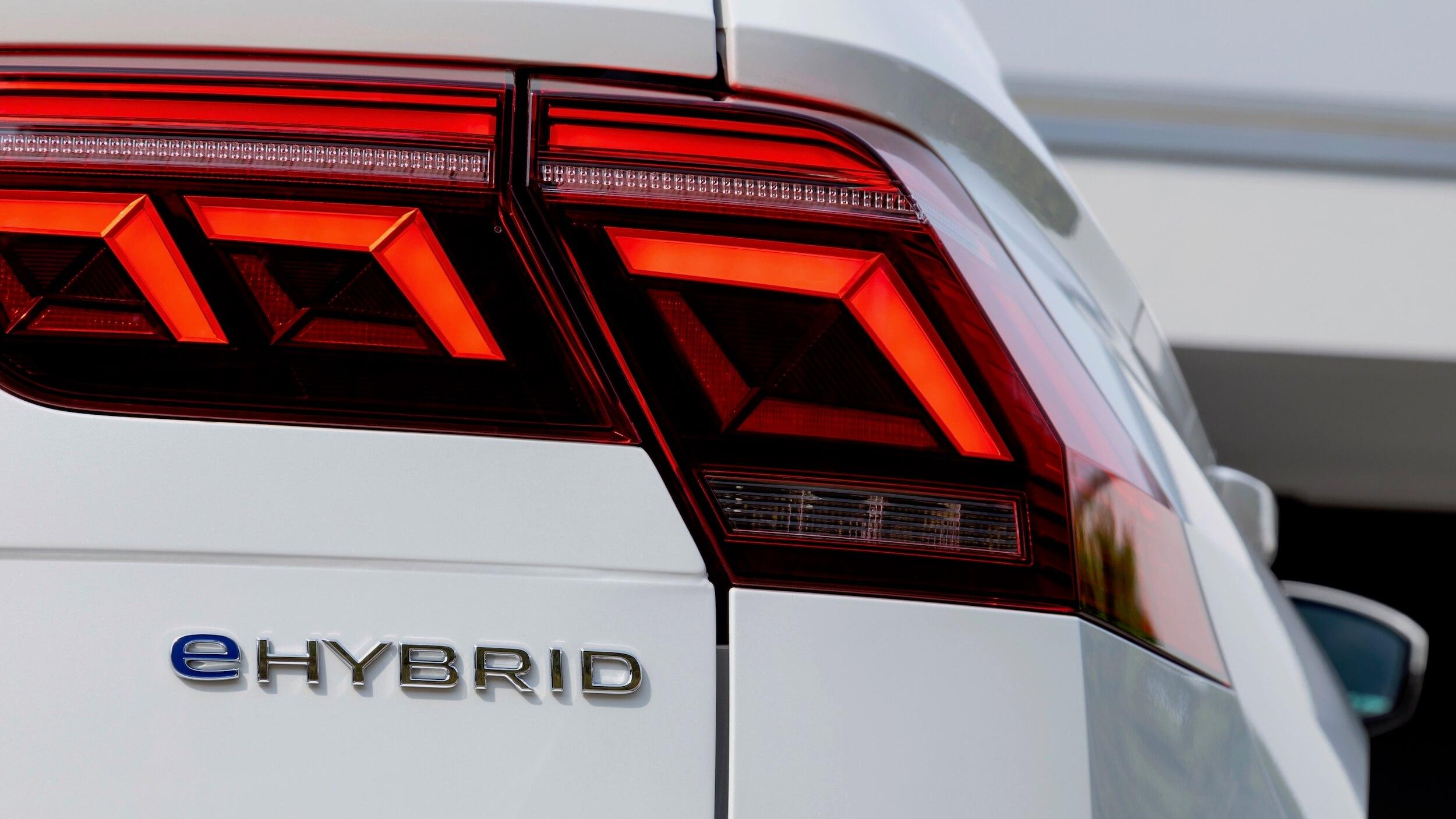 VW Tiguan eHybrid badge
