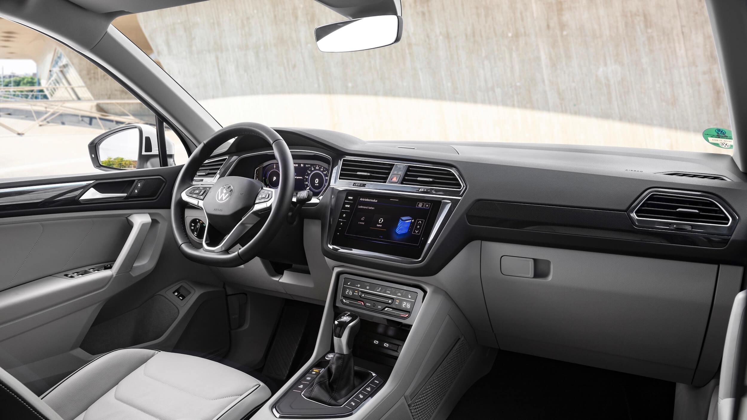 VW Tiguan eHybrid interieur