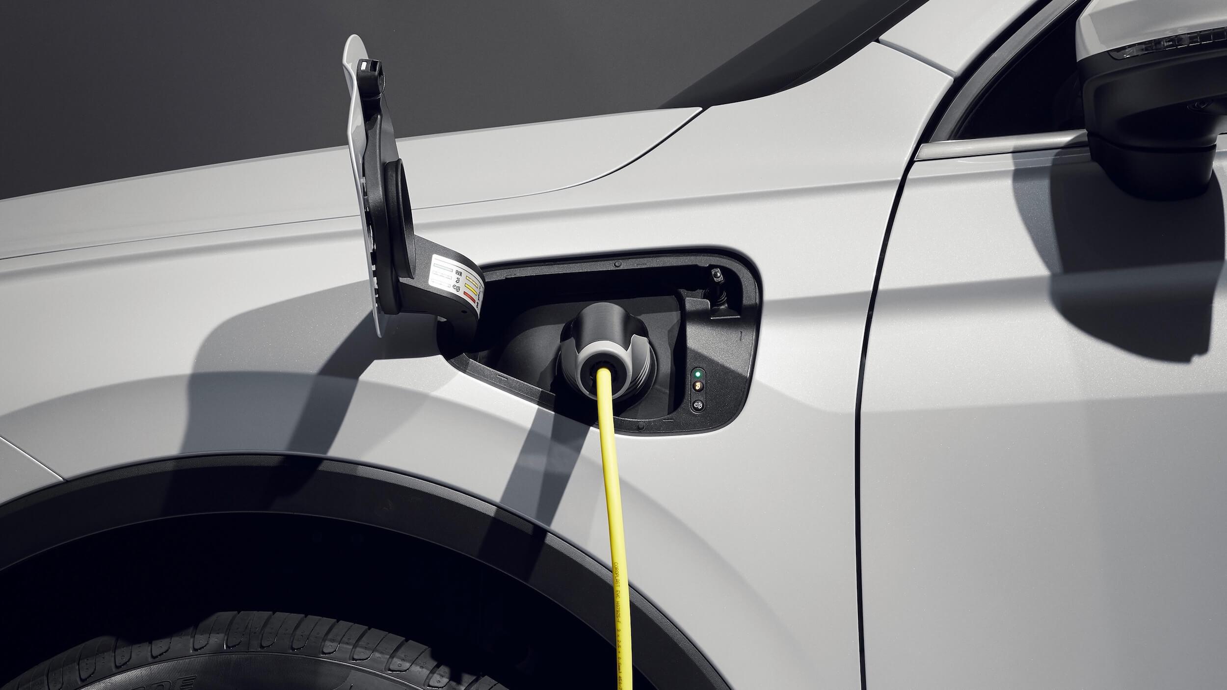 VW Tiguan eHybrid laadkabel