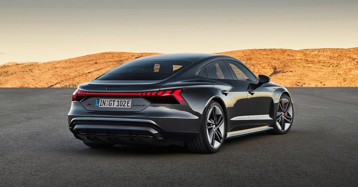 Audi e tron GT RS elektrische sportauto