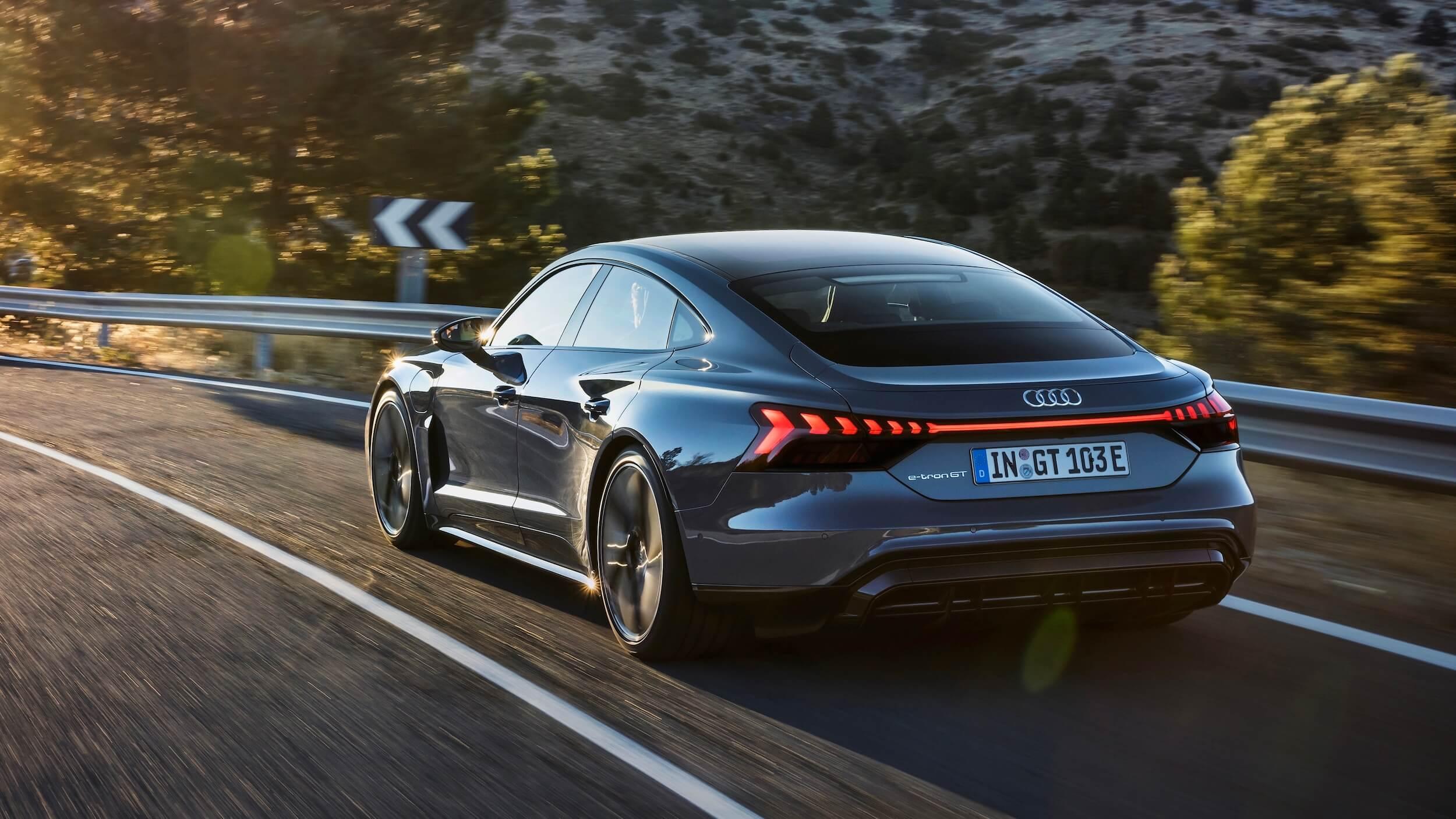 Audi e tron GT quattro EV