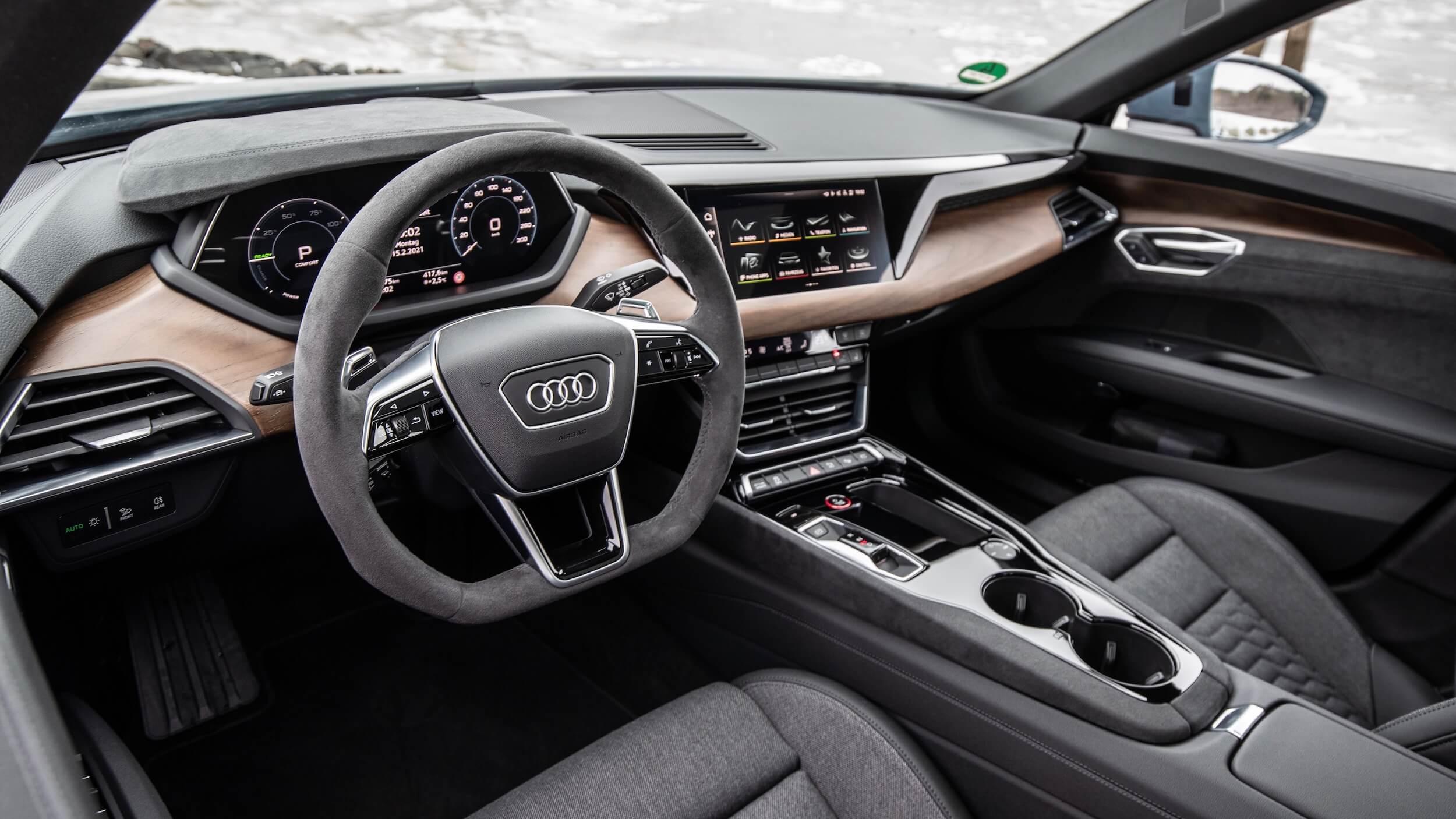 Audi e tron GT stuur