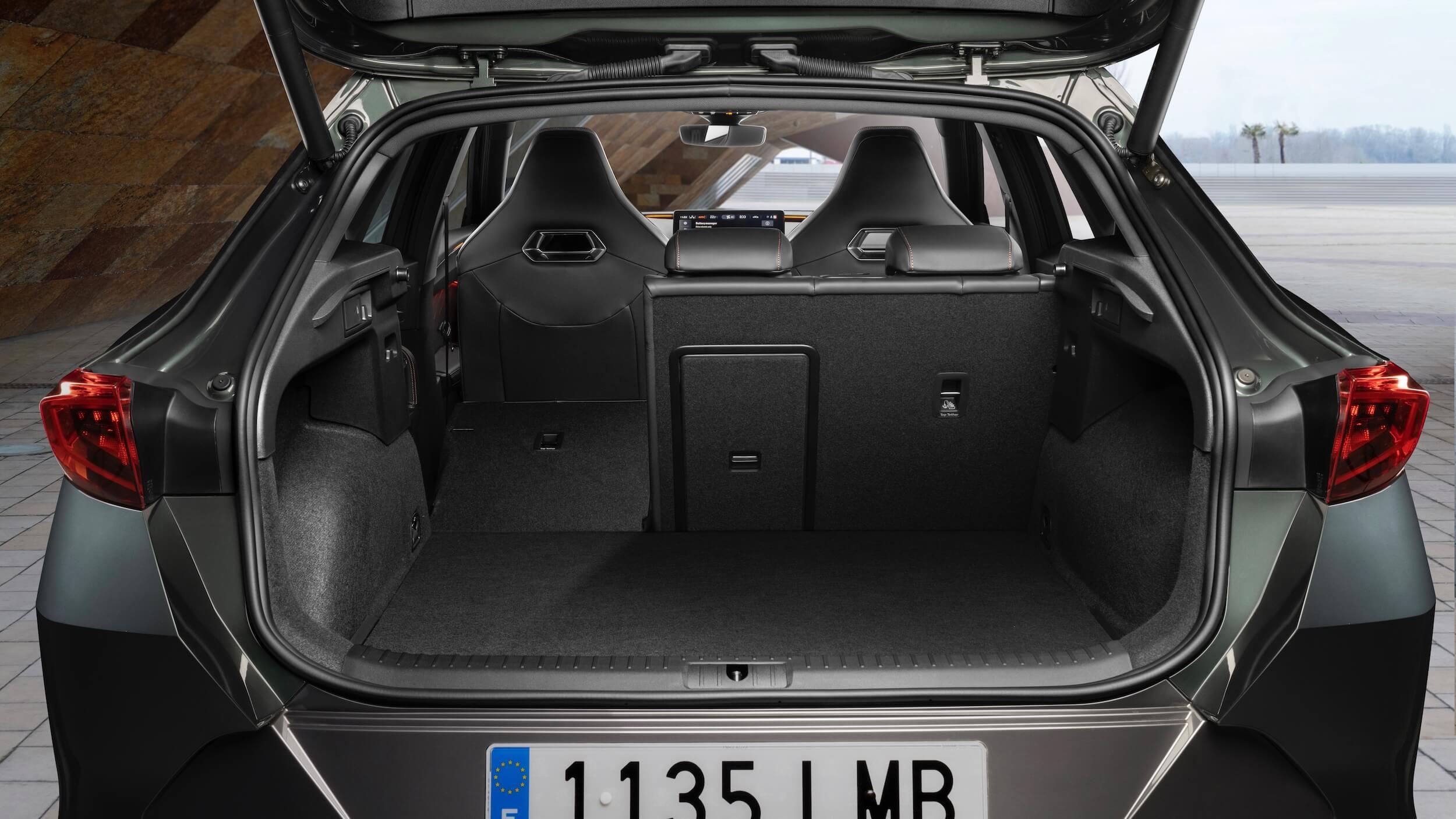 Cupra Formentor PHEV koffer