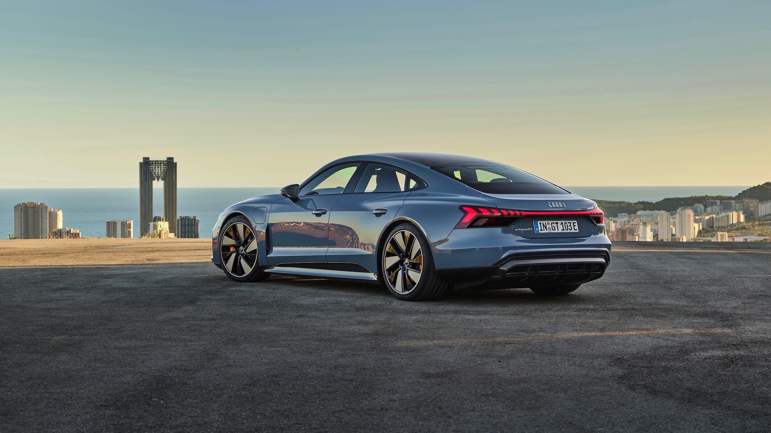 Elektrische Audi e tron GT quattro