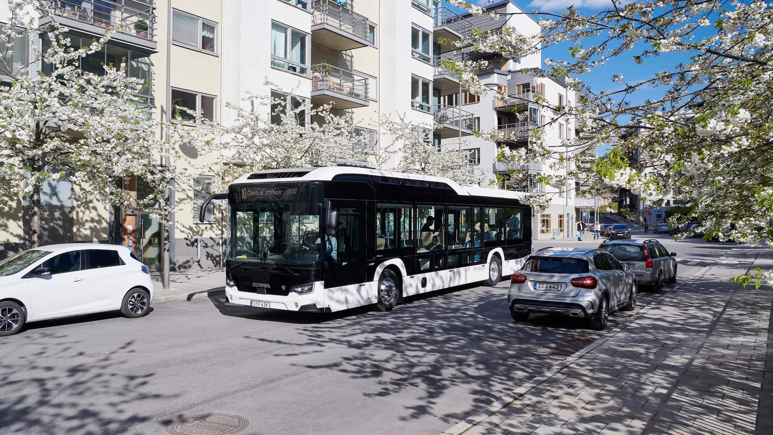 Elektrische Scania bus
