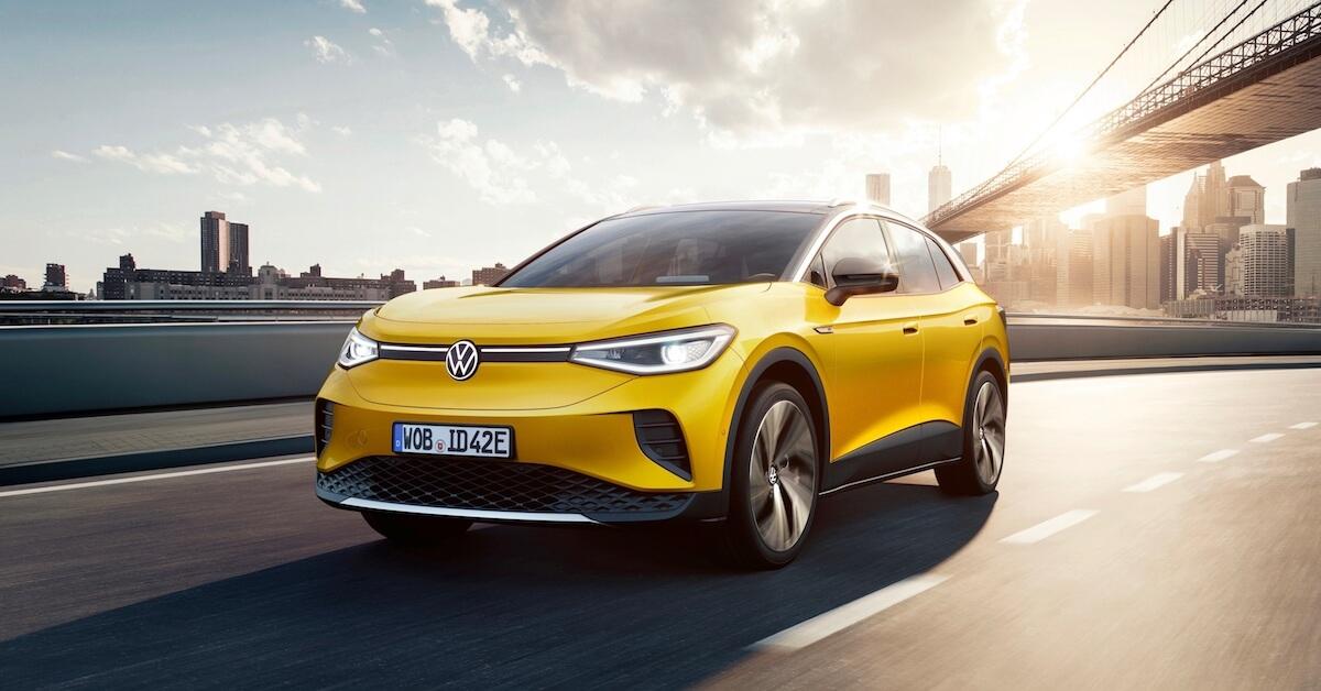 Elektrische Volkswagen ID.4 SUV