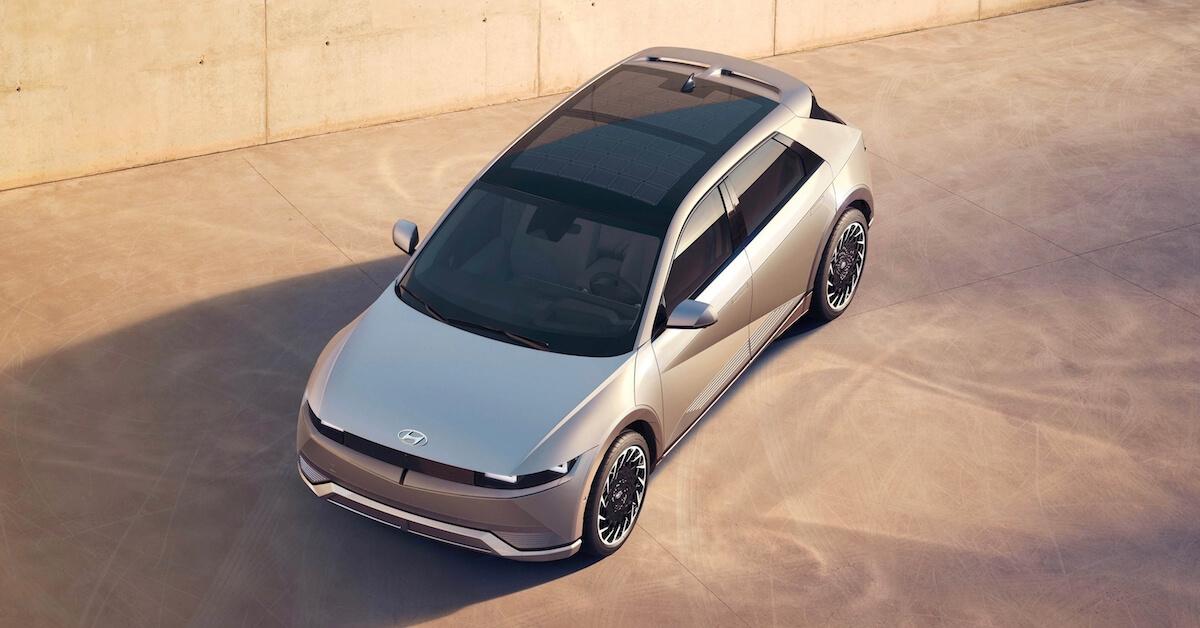 Ioniq 5 elektrische auto