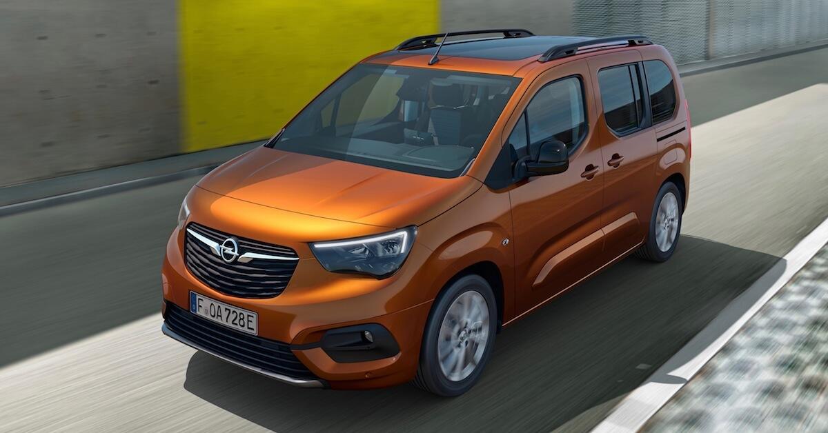 Opel Combo e Life elektrische MPV 1