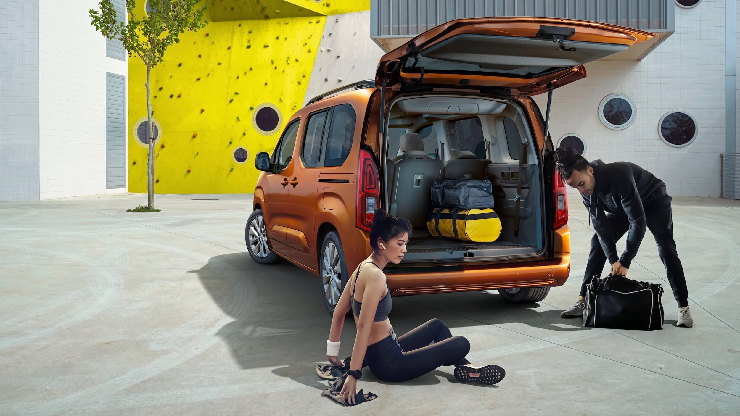 Opel Combo e Life koffer