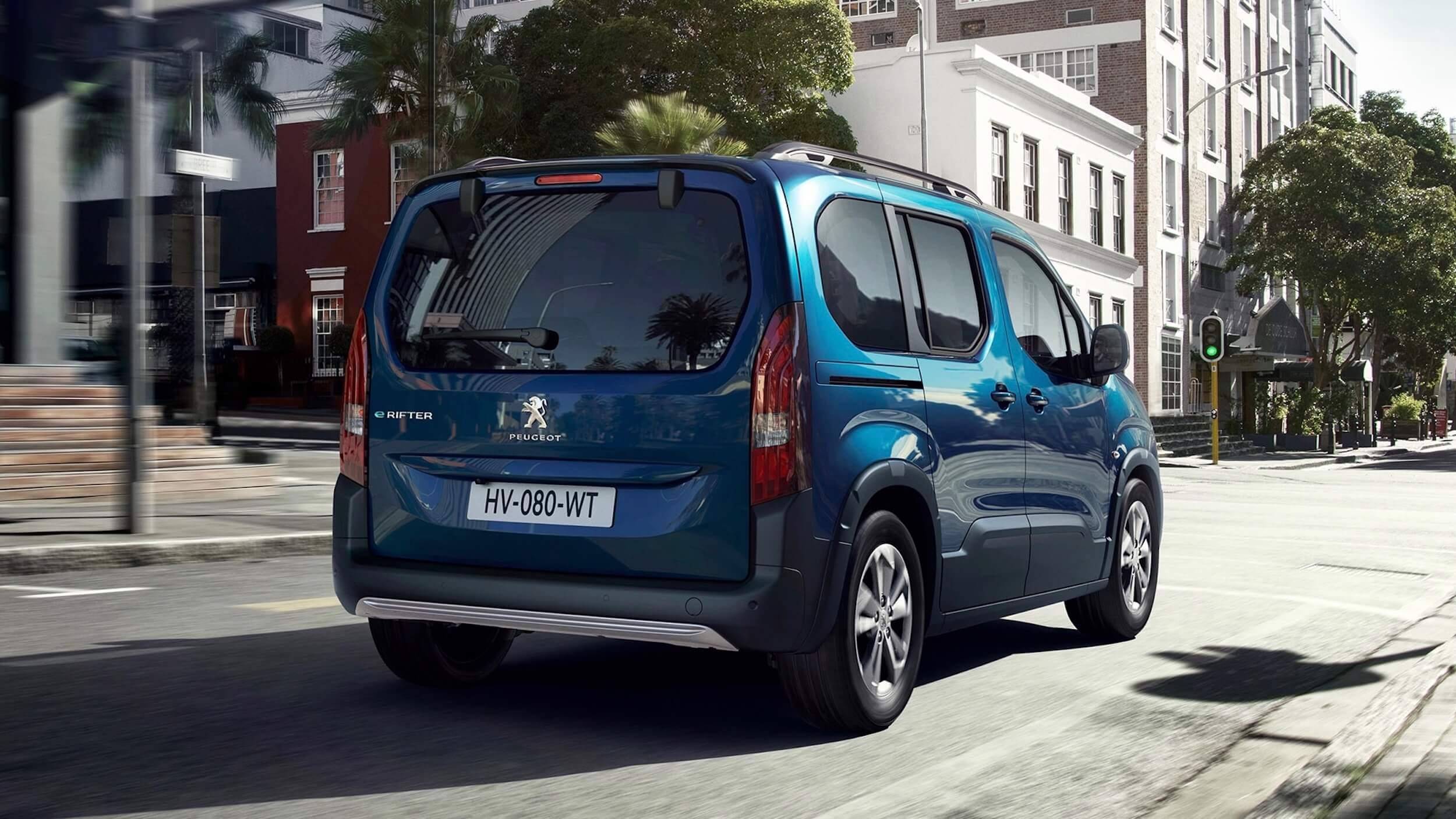 Peugeot e Rifter achterkant