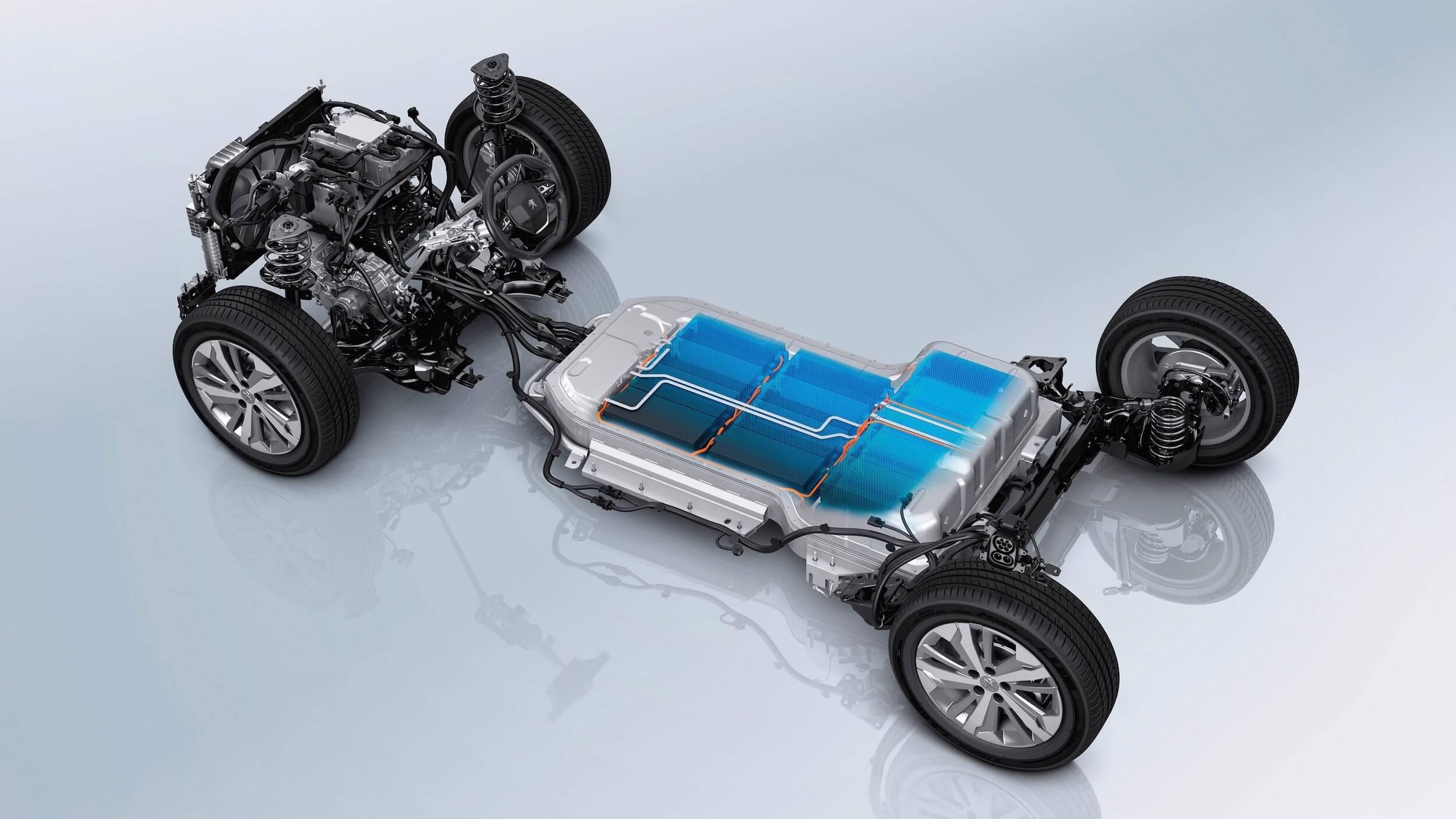 Peugeot e Rifter batterij