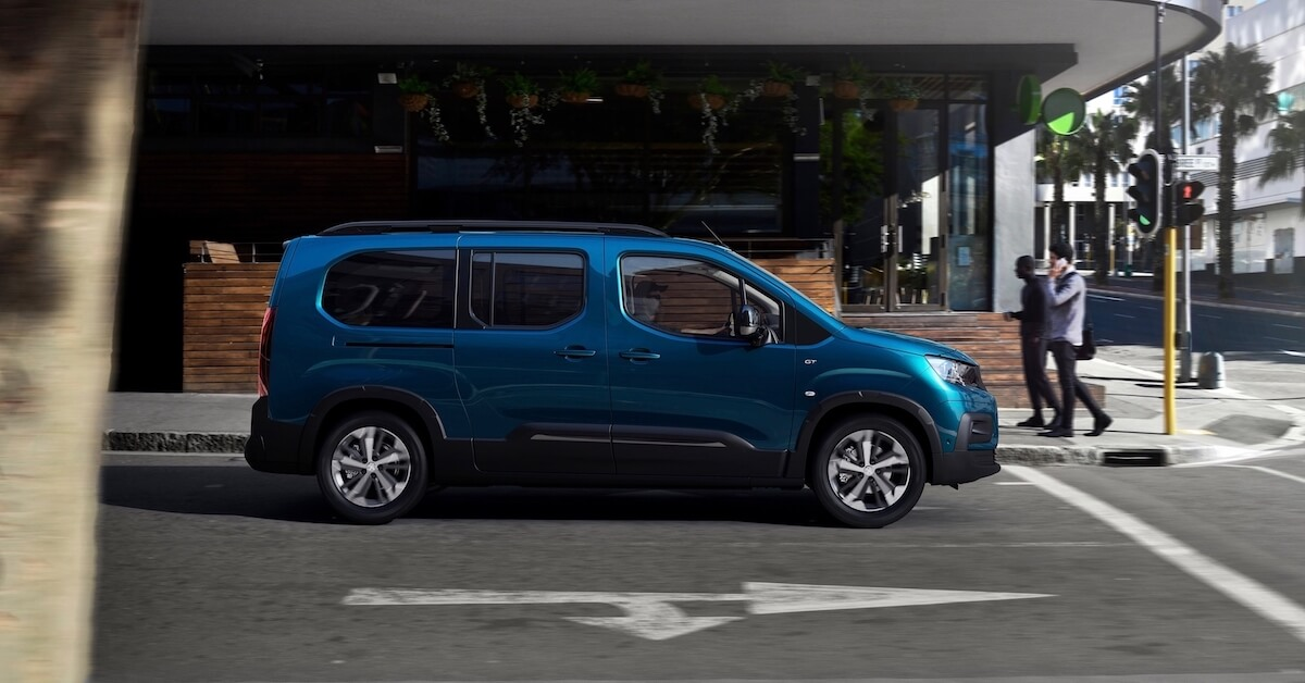 Peugeot e Rifter elektrische MPV