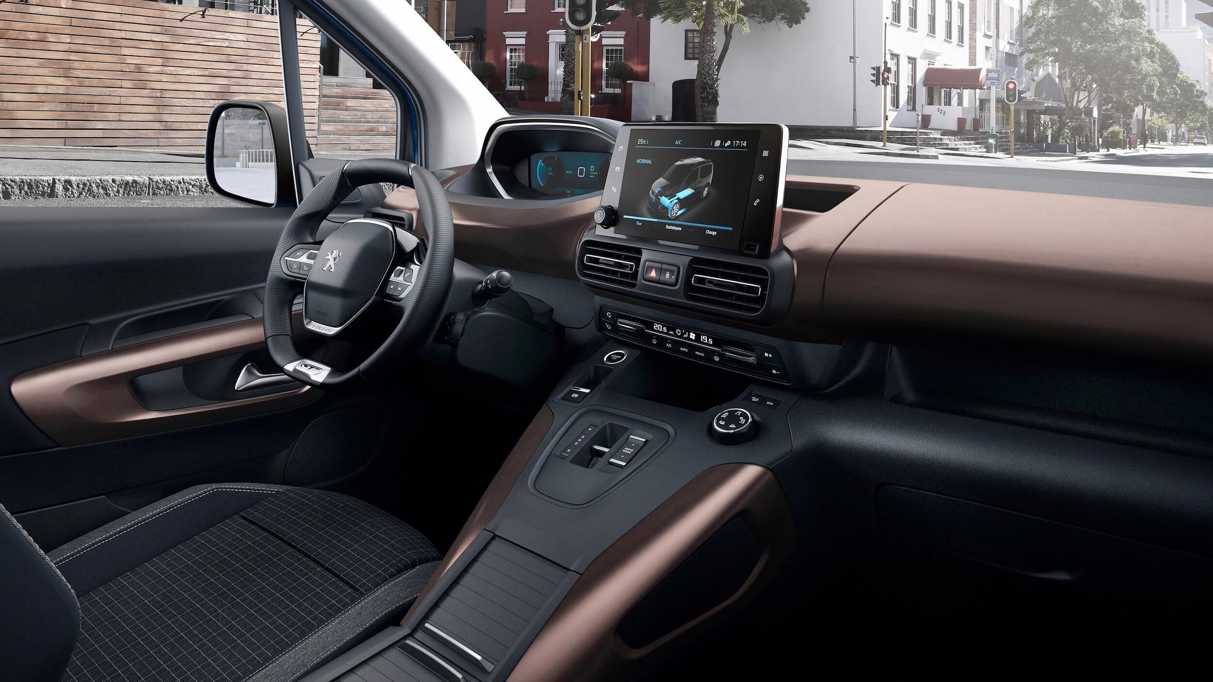 Peugeot e Rifter interieur